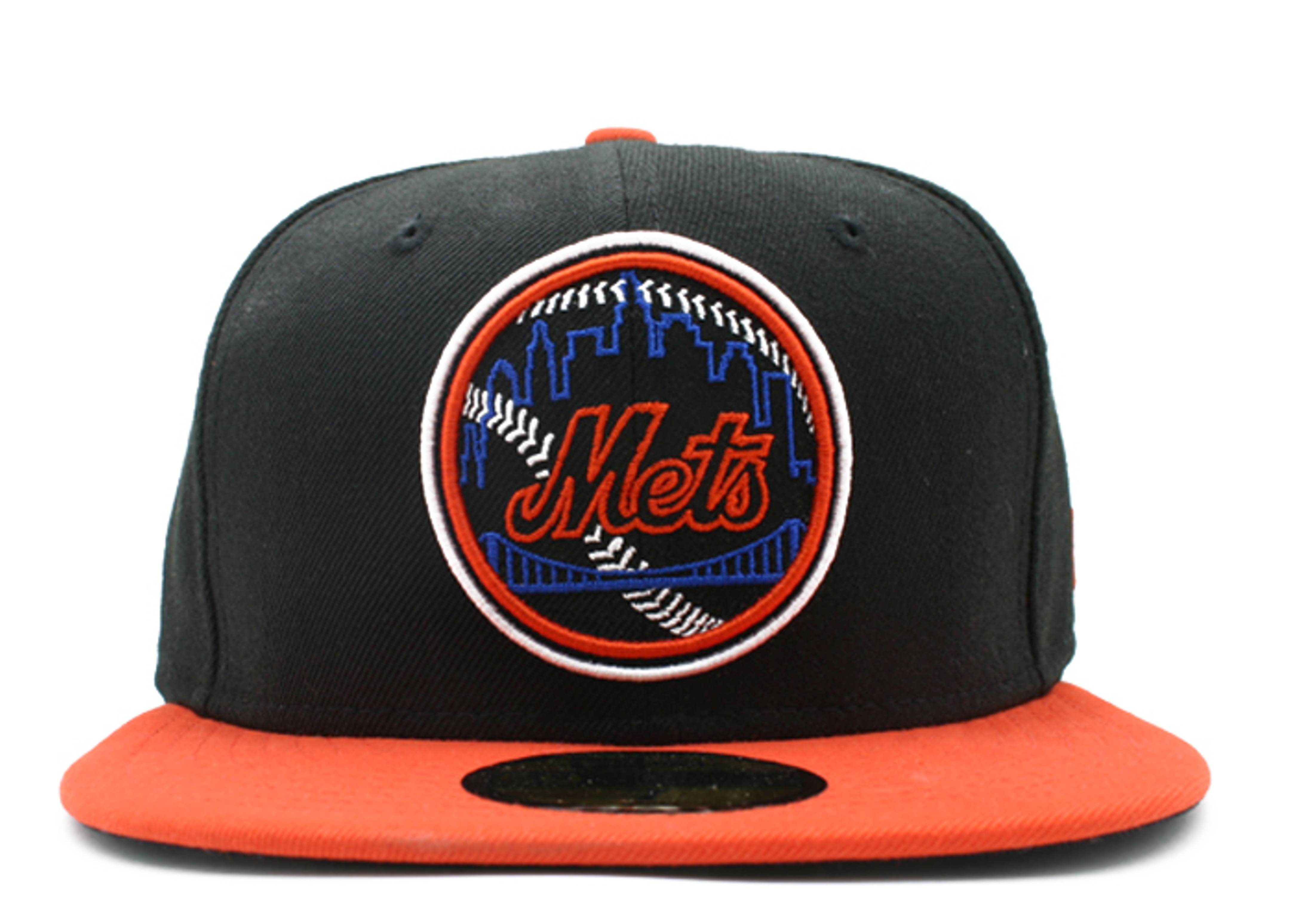"new york mets 2tone fitted ""neon sign"""