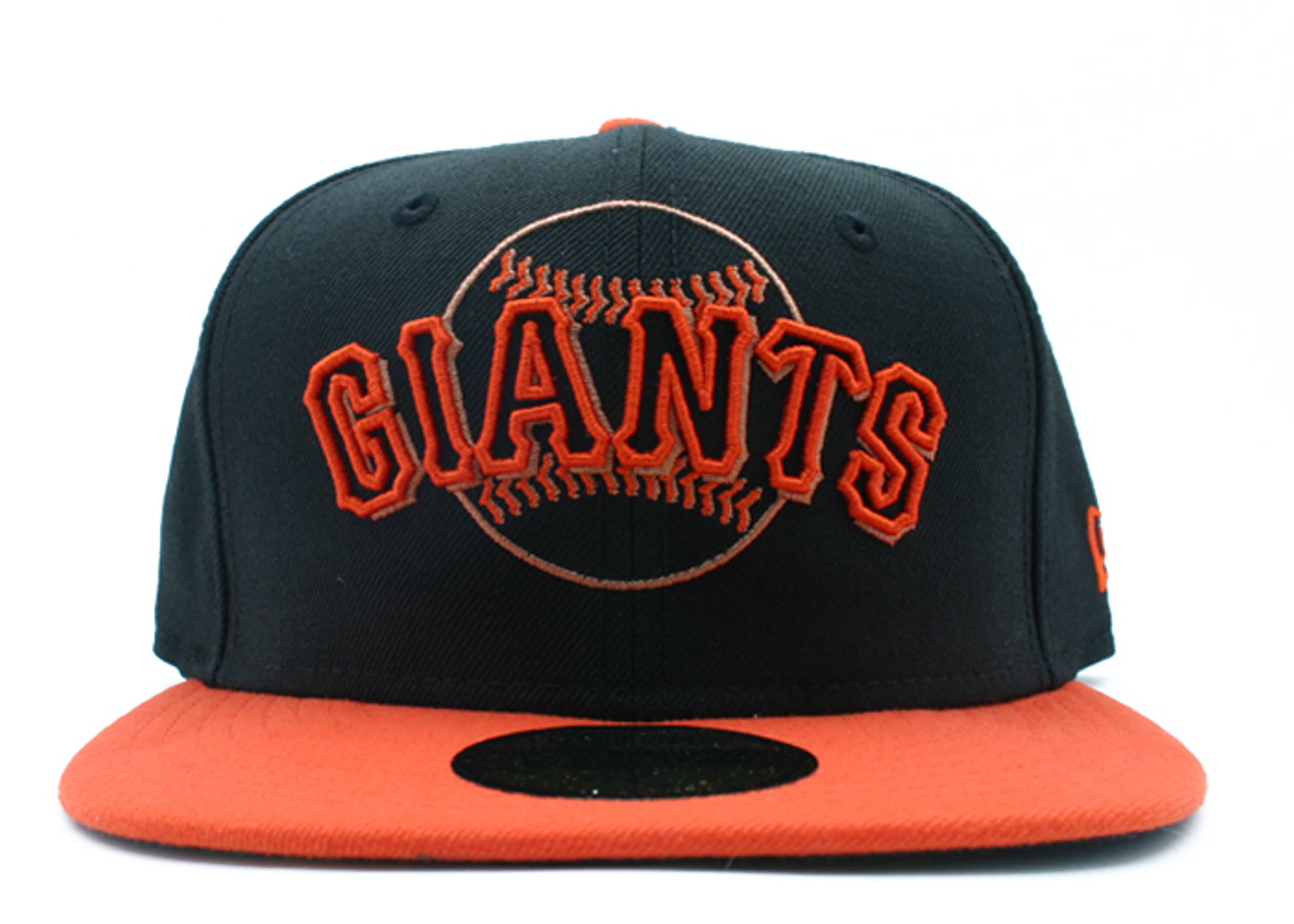 "san francisco giants 2tone fitted ""neon sign"""