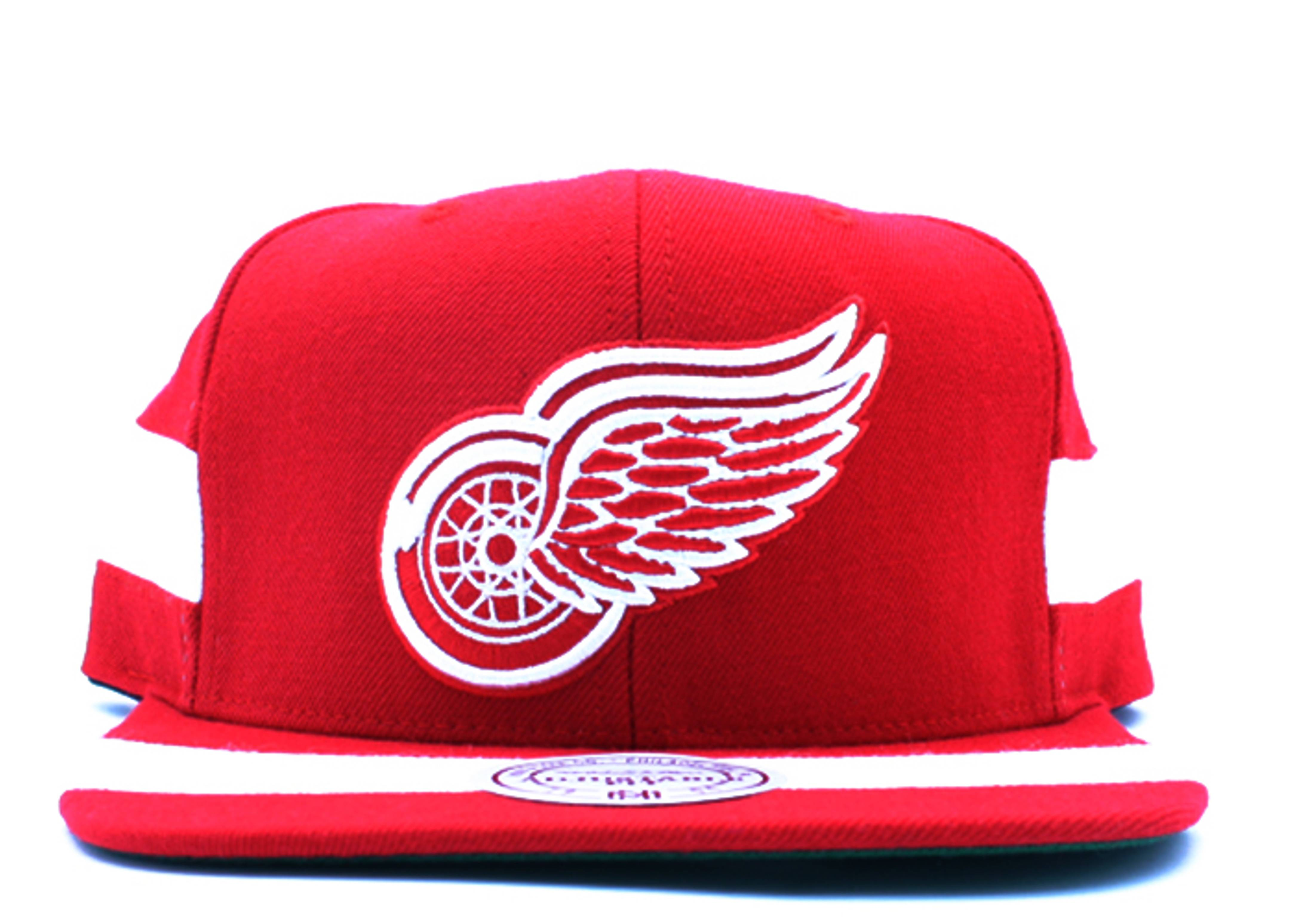 "detroit red wings snap-back ""team jersey"""