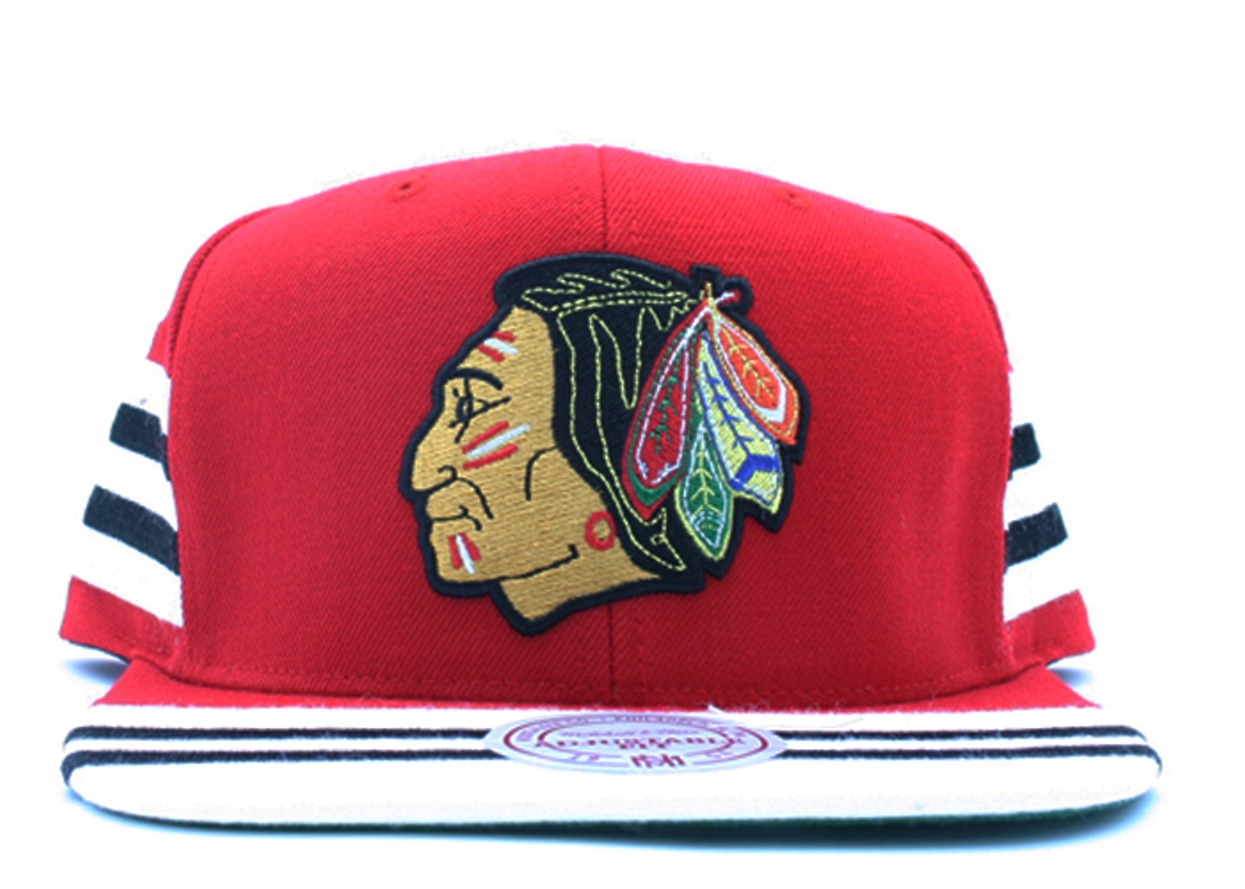 "chicago blackhawks snap-back ""team jersey"""