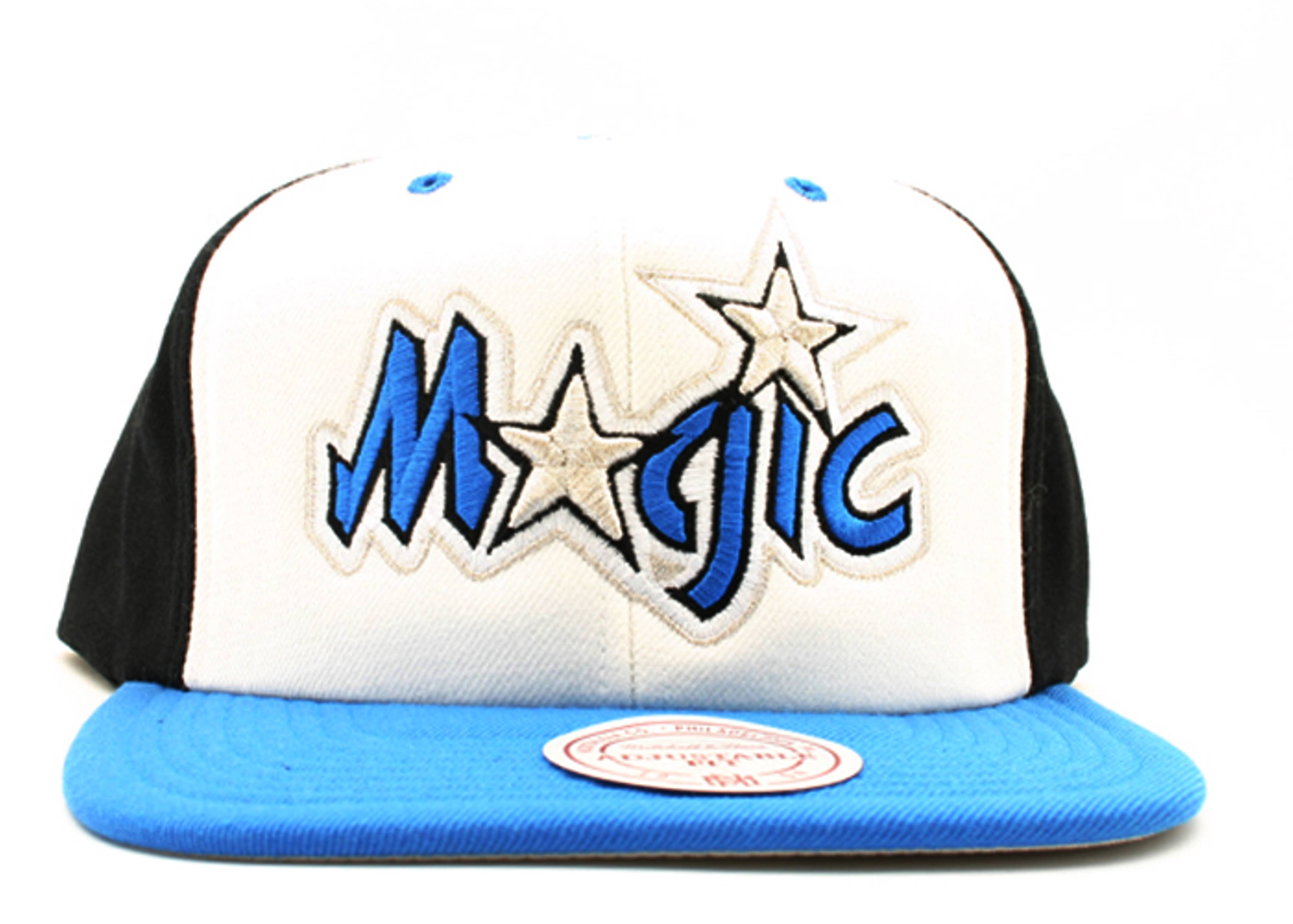 "orlando magic tri-color snap-back ""hi crown"""