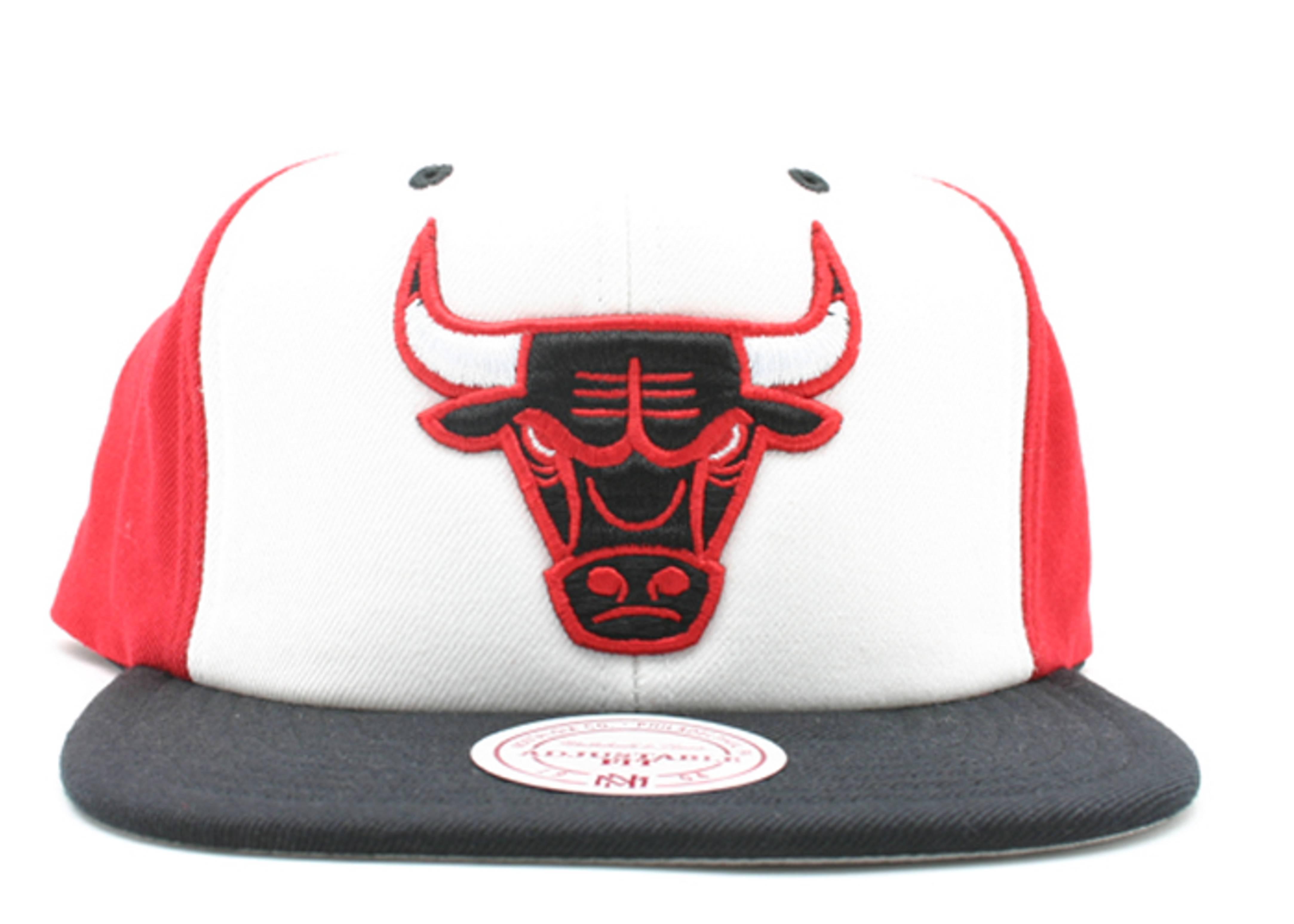 """chicago bulls tri-color snap-back """"hi crown"""""""