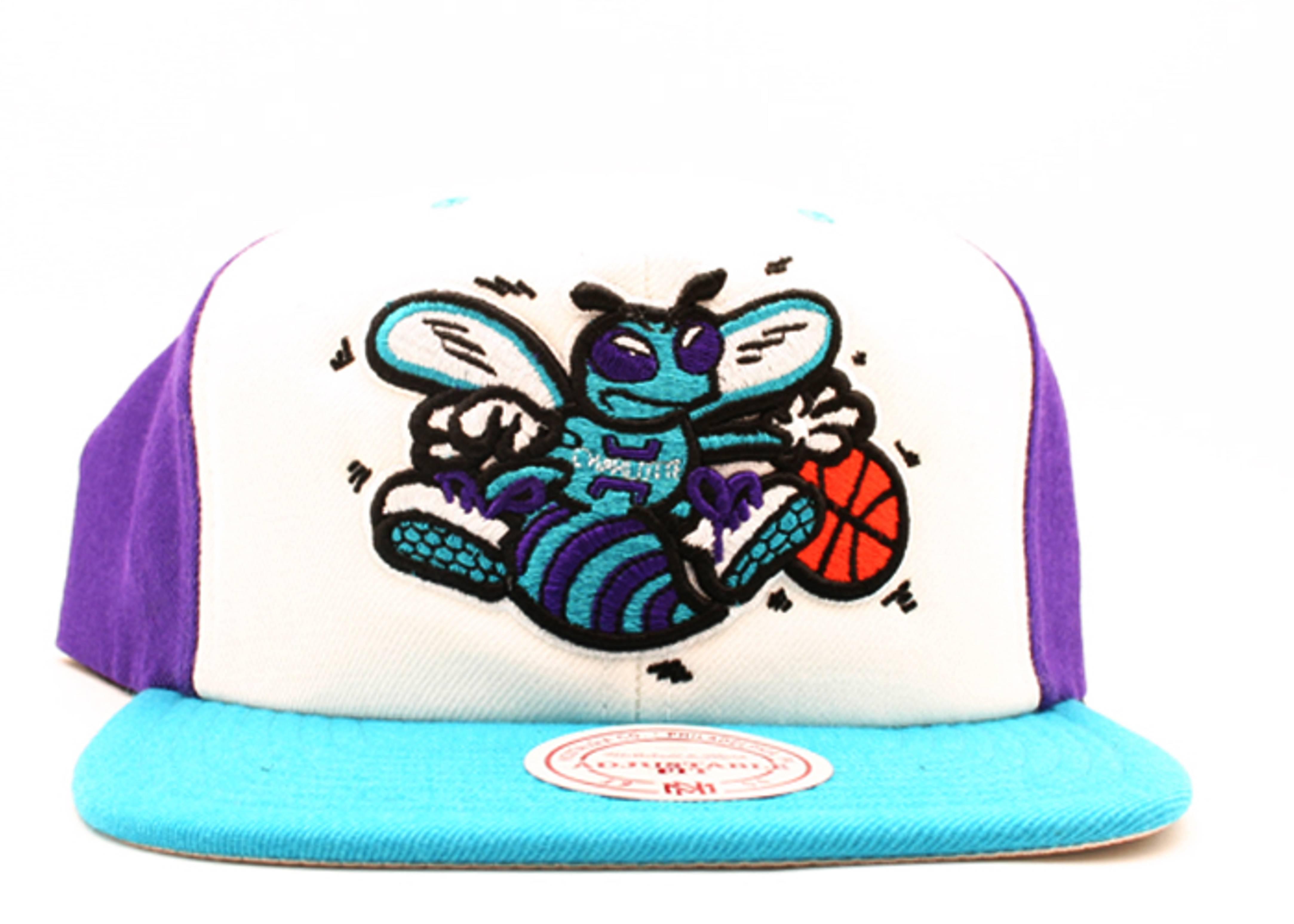 """charlotte hornets tri-color snap-back """"hi crown"""""""