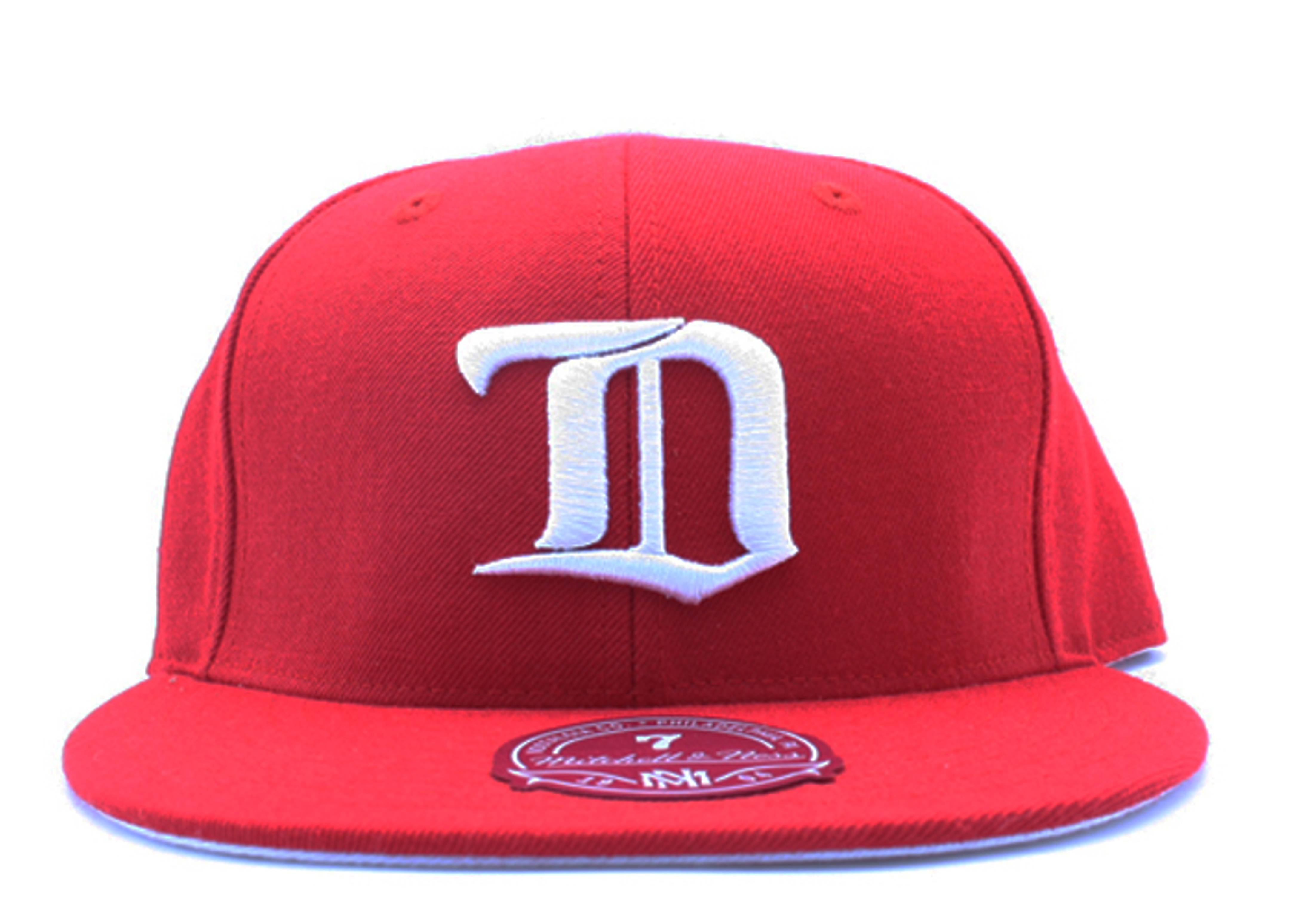 detroit red wings fitted
