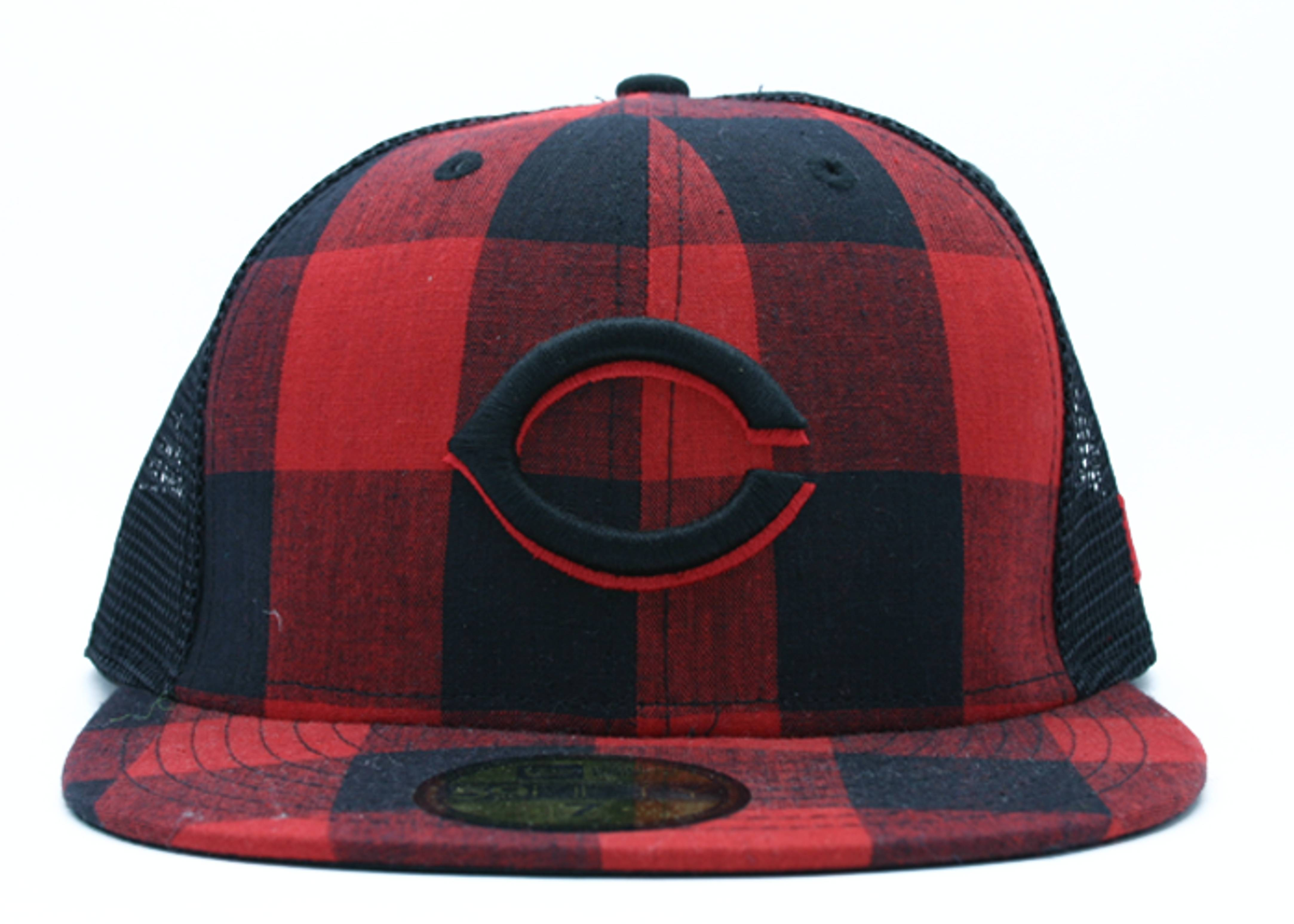 "cincinati red sox fitted ""mesh"""
