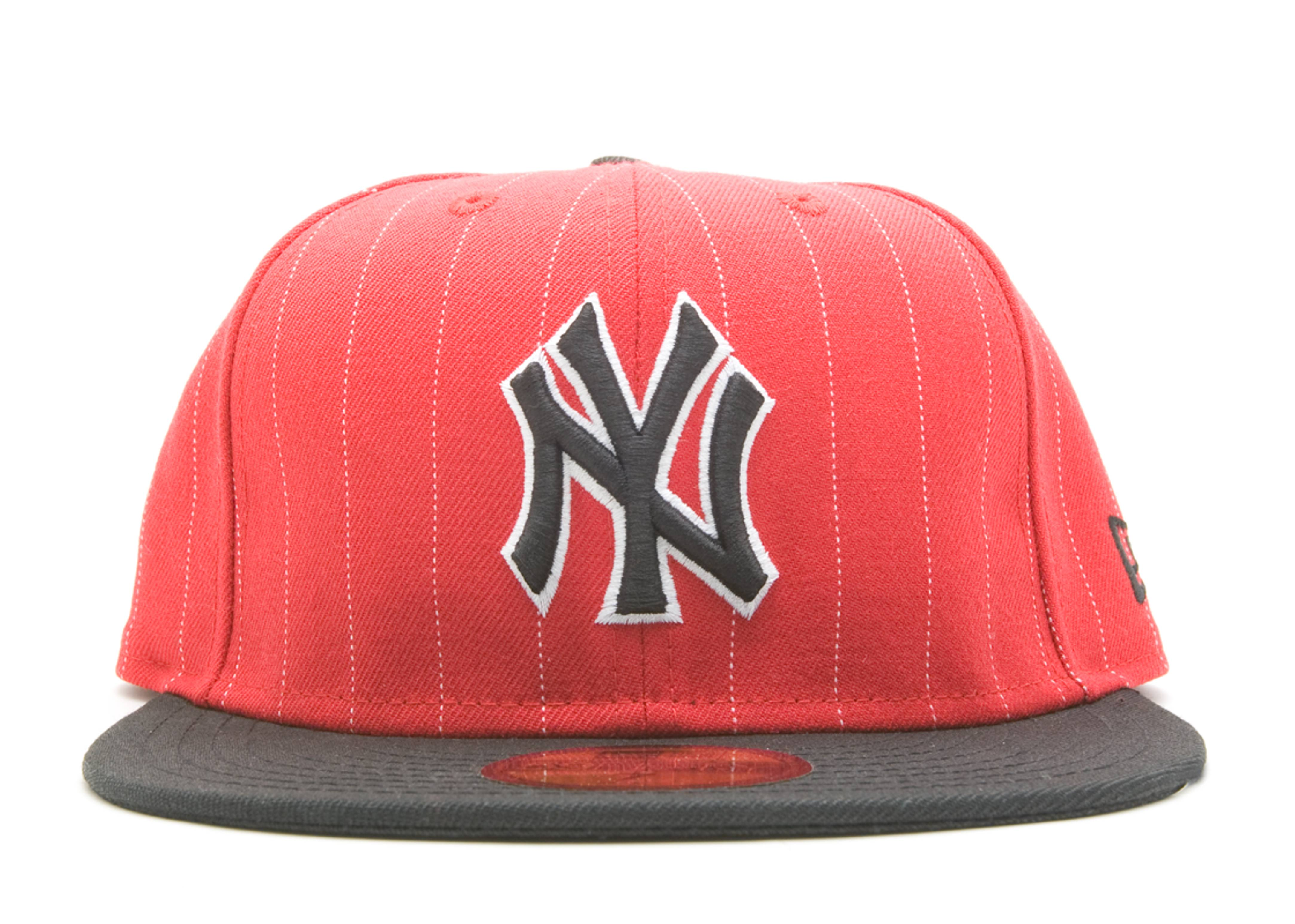 """new york yankees fitted """"stripe"""""""