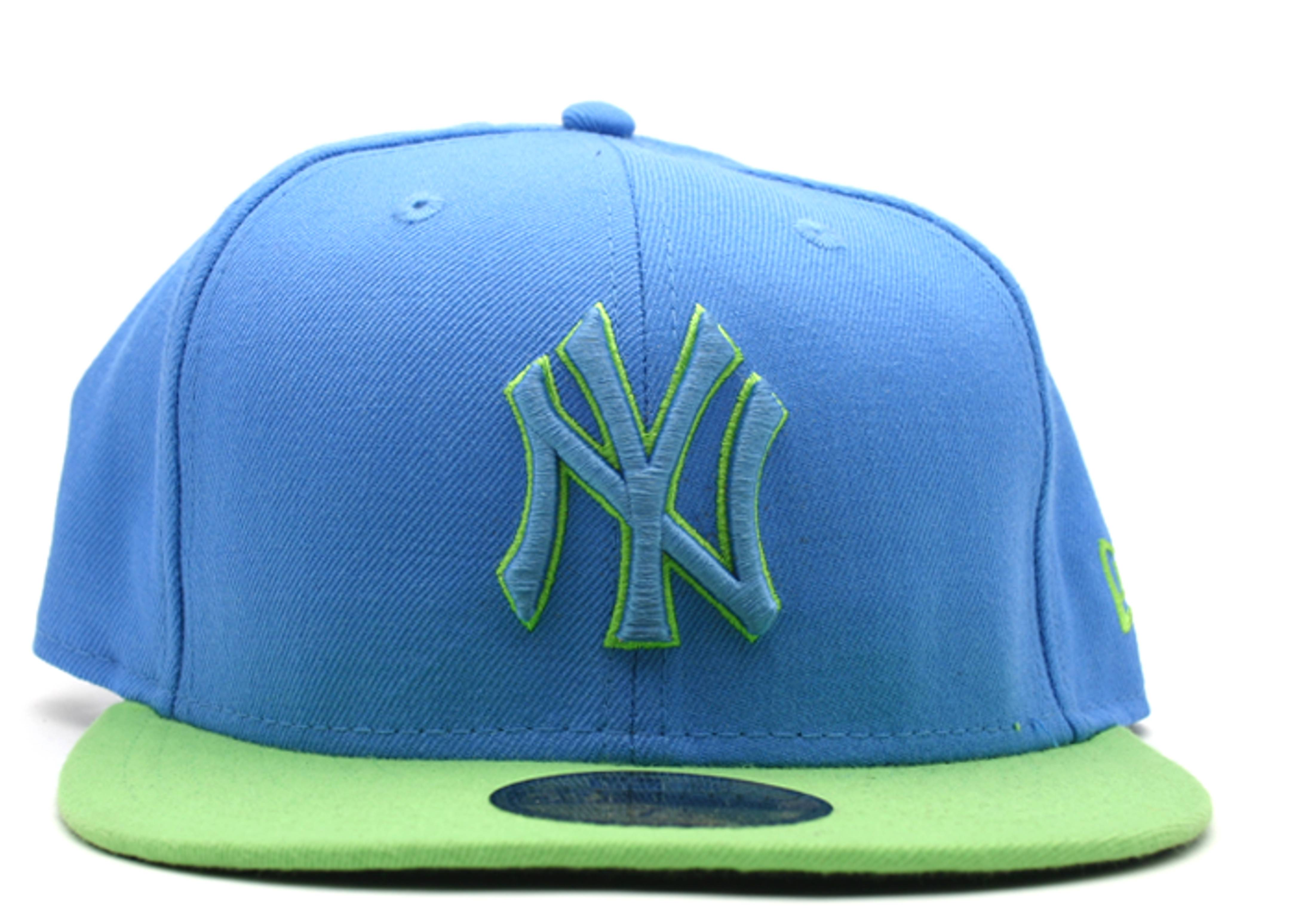 57c47196474 New York Yankees Fitted - New Era - 10173973 - airforce lime ...