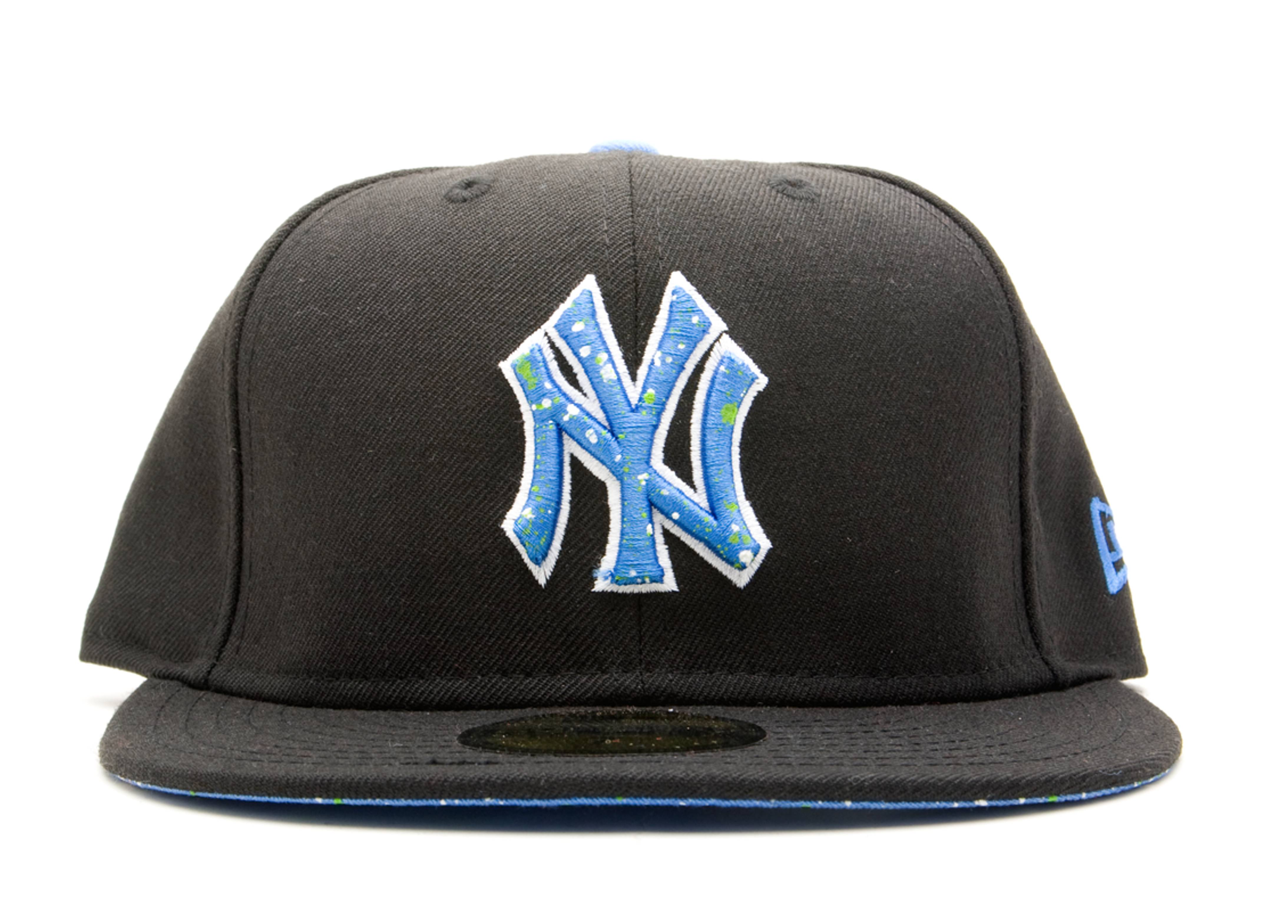 "new york yankees dnd fitted ""splatter"""