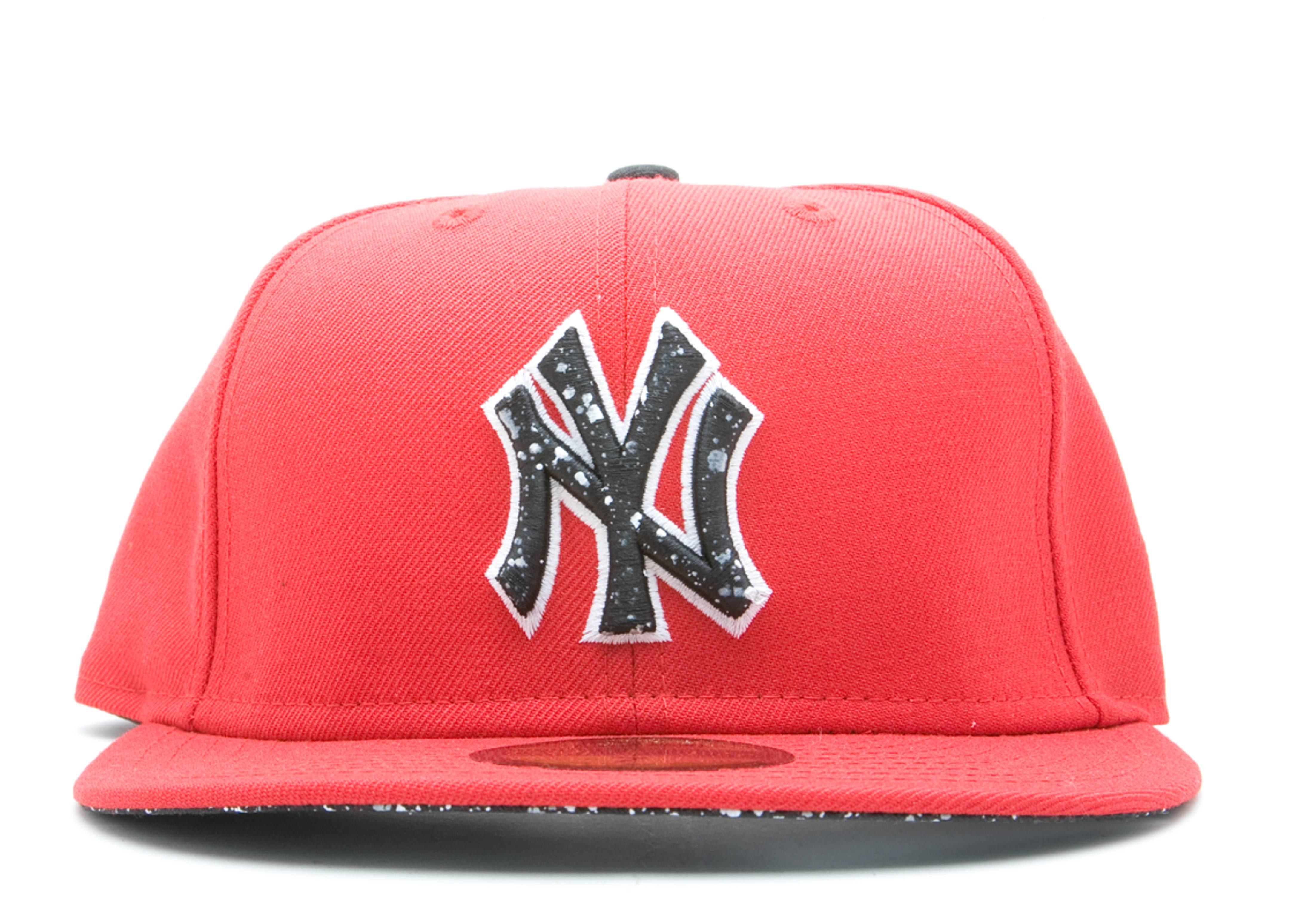 "new york yankees dnd fitted ""splatter"""