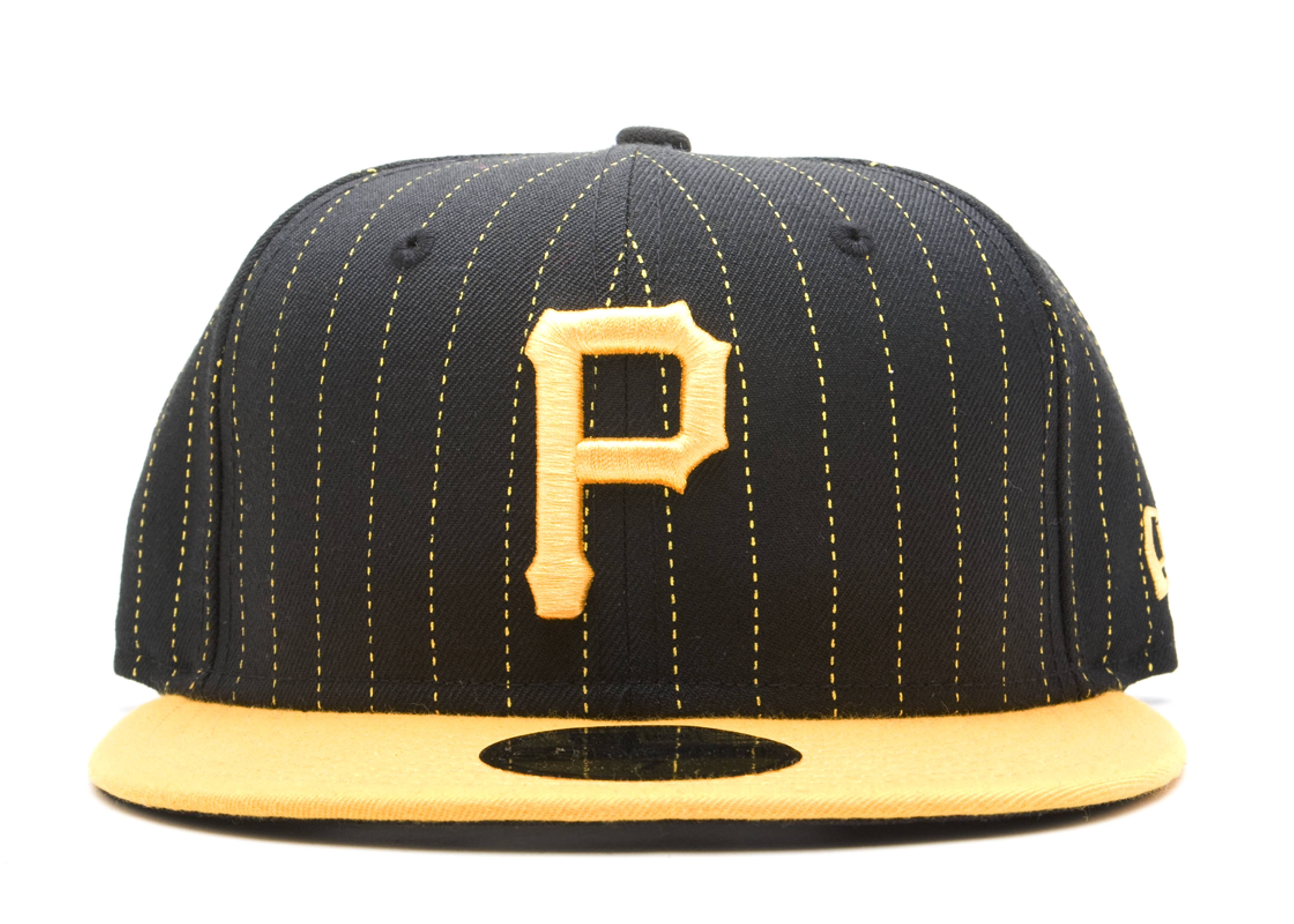 pittsburgh pirates stripe fitted