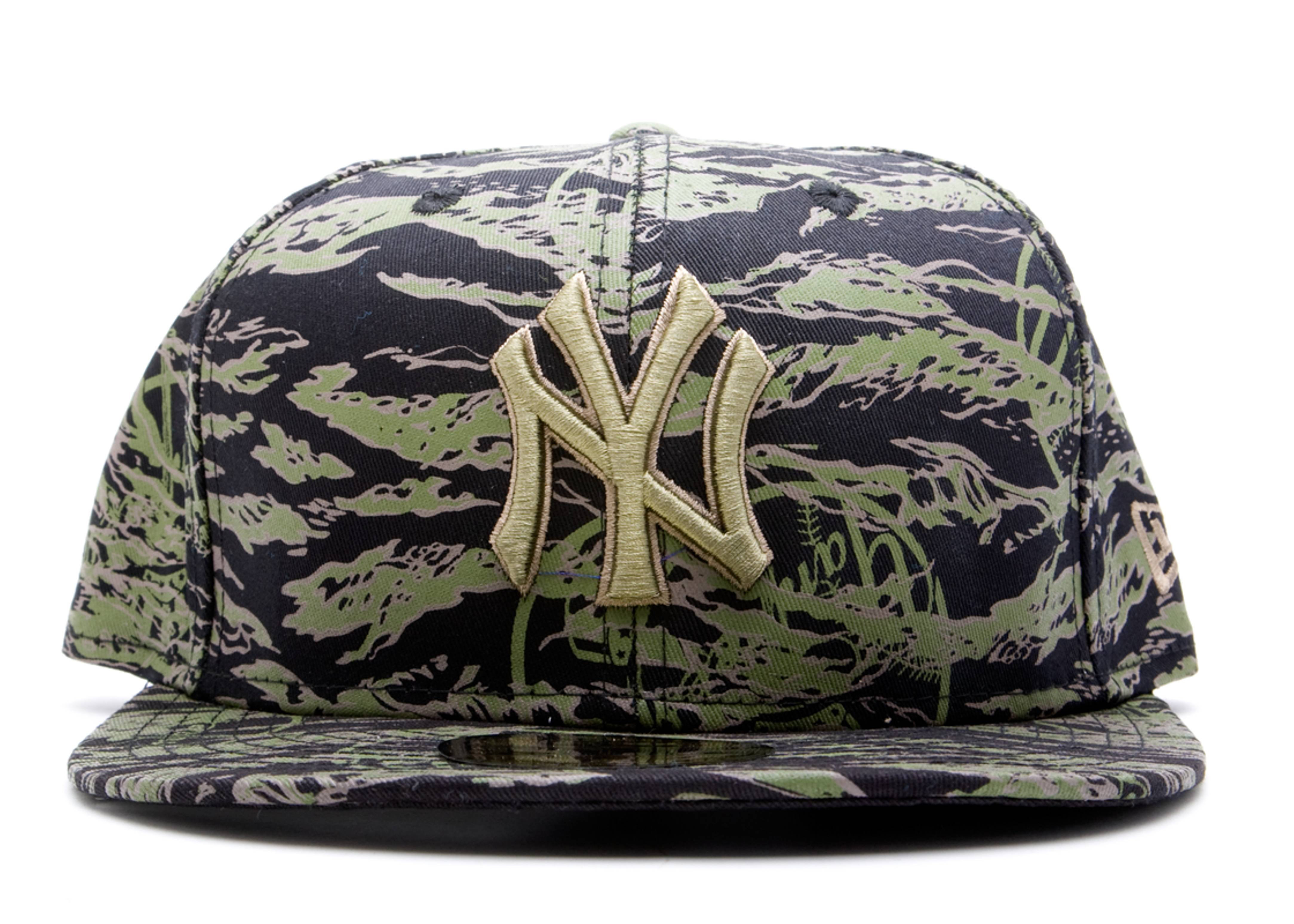new york yankees tiger fitted
