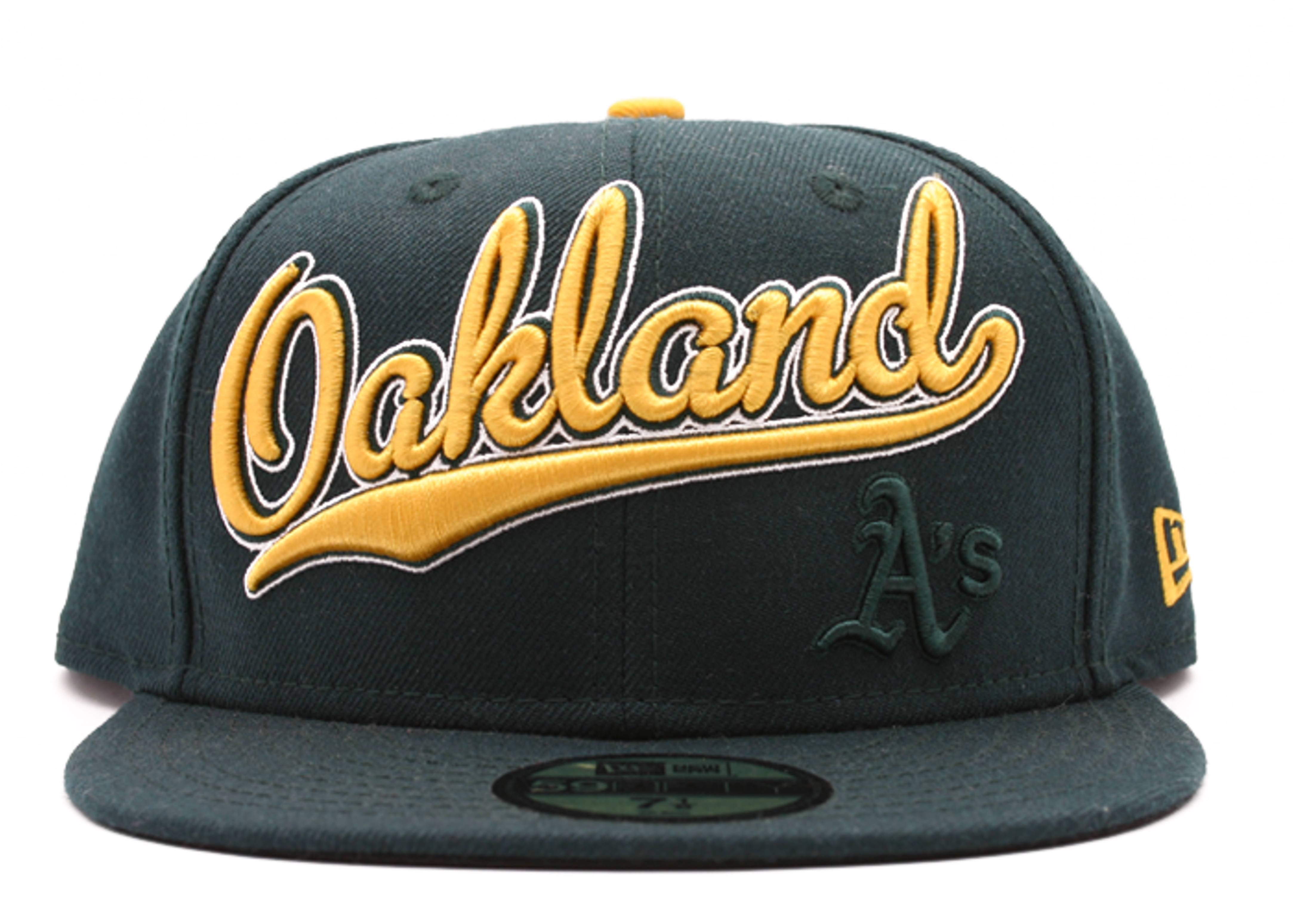 "oakland as fitted ""script"""