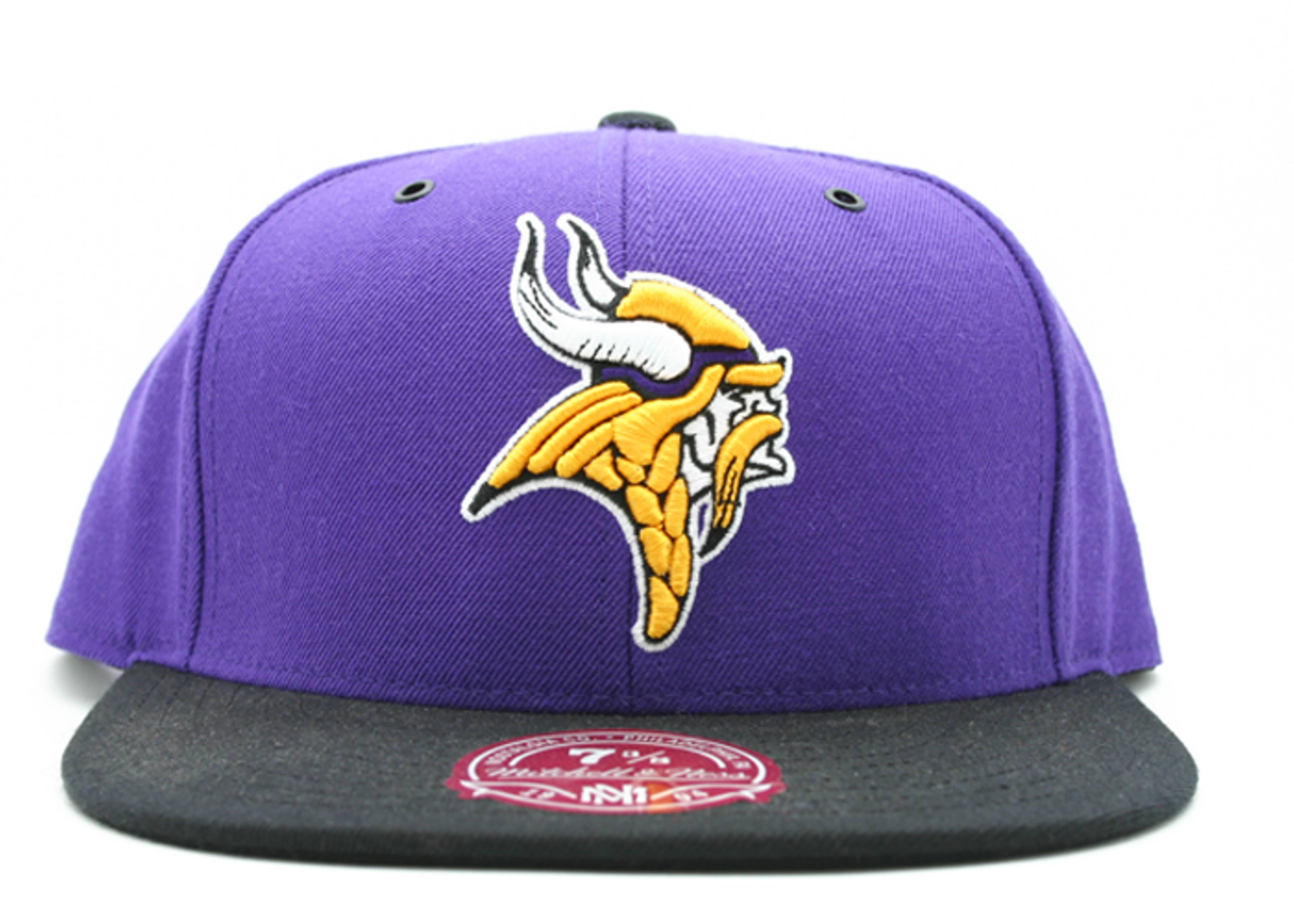 sale retailer 6f765 4c8ff Minnesota Vikings Fitted - Mitchell & Ness - tt26bte6vikin ...