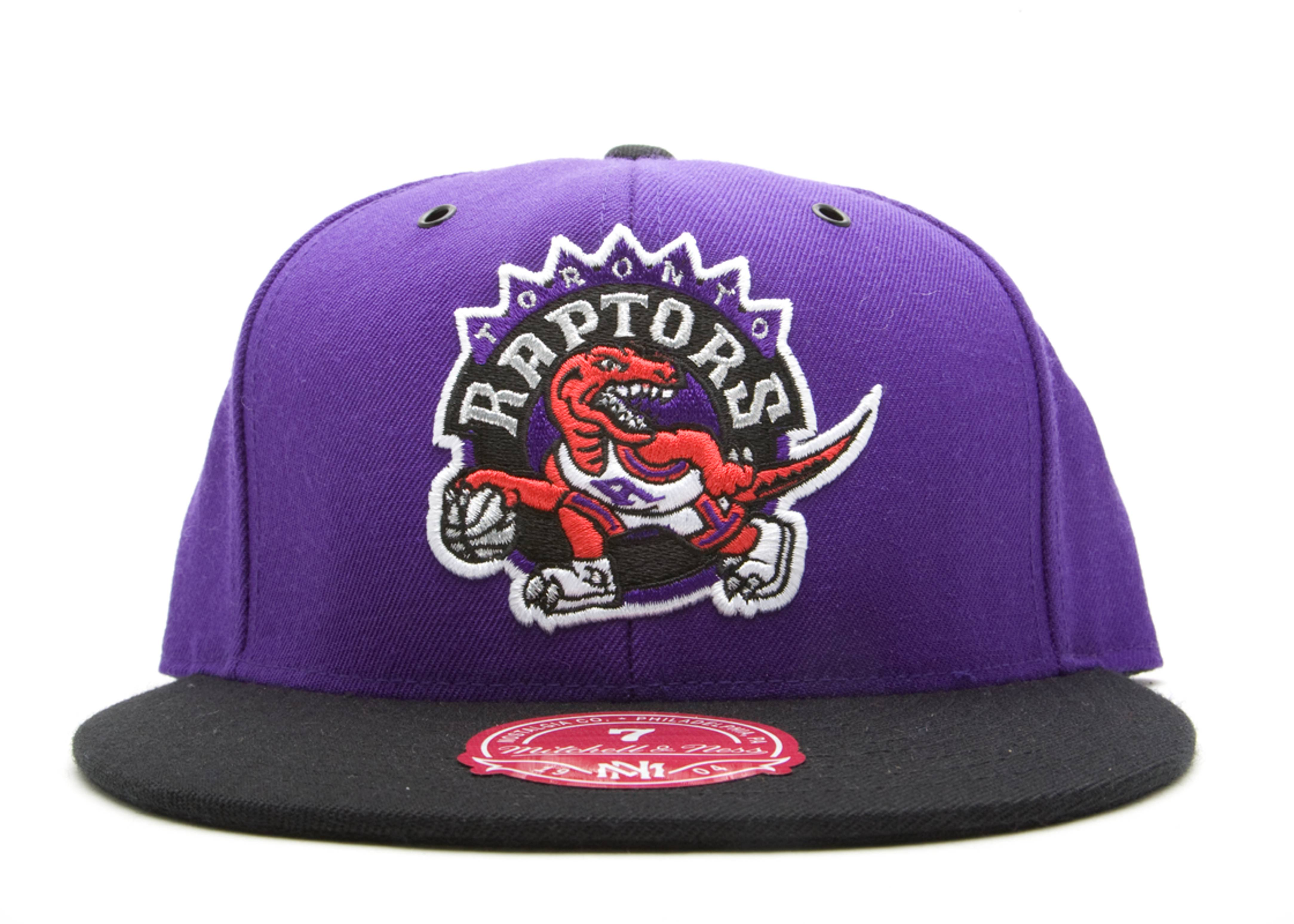 toronto raptors 2-tone fitted