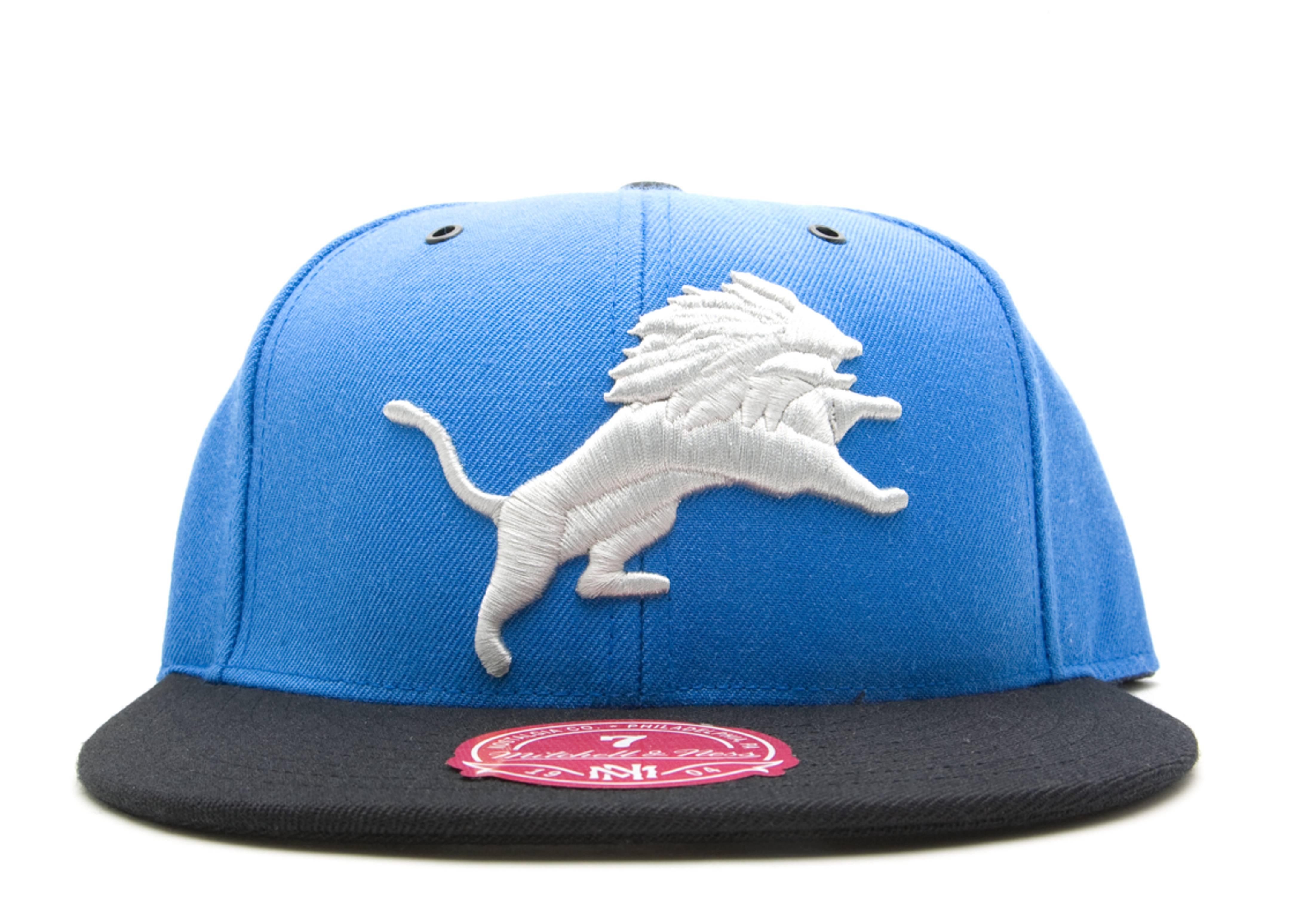 detroit lions 2 tone