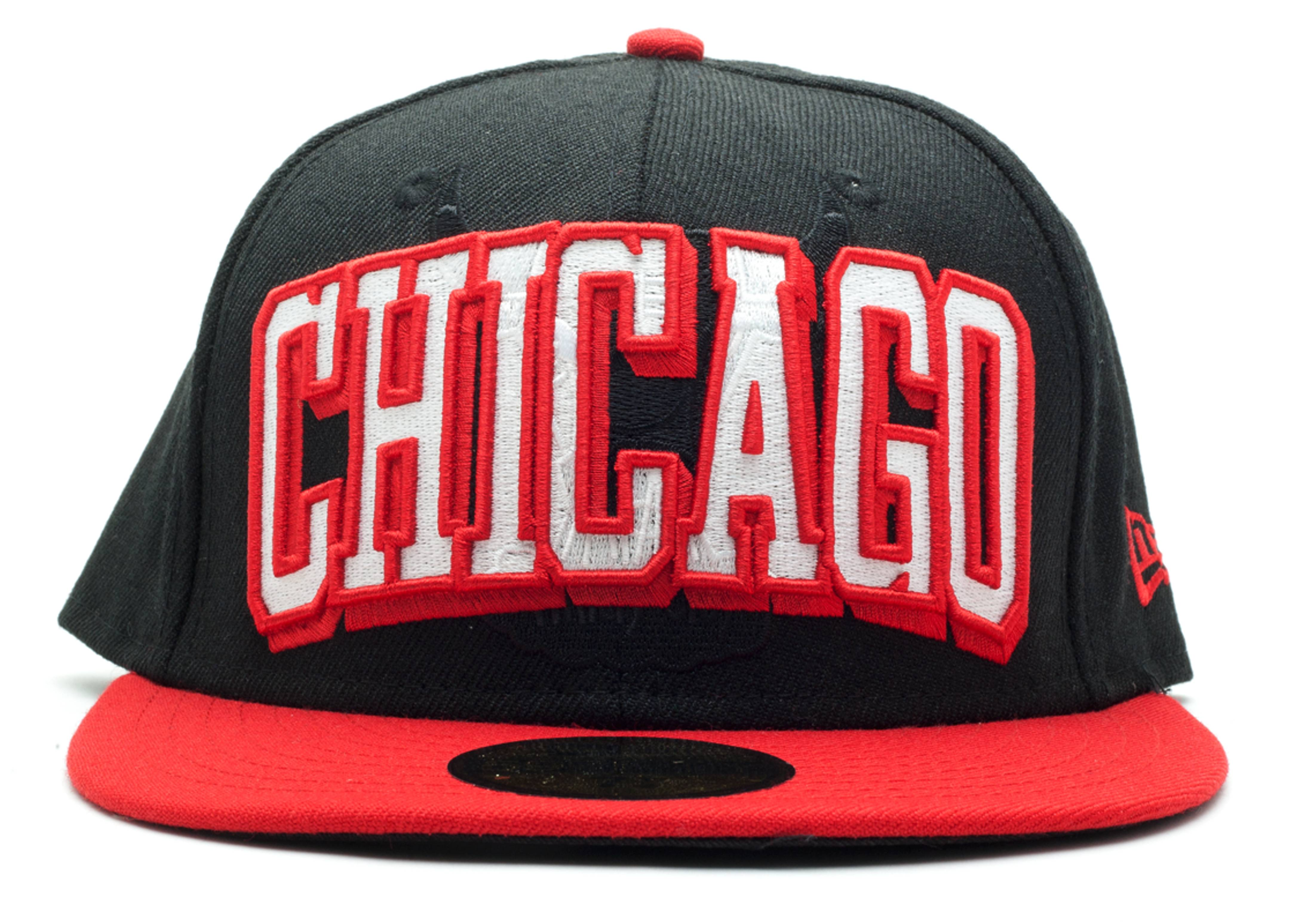 chicago bulls fitted