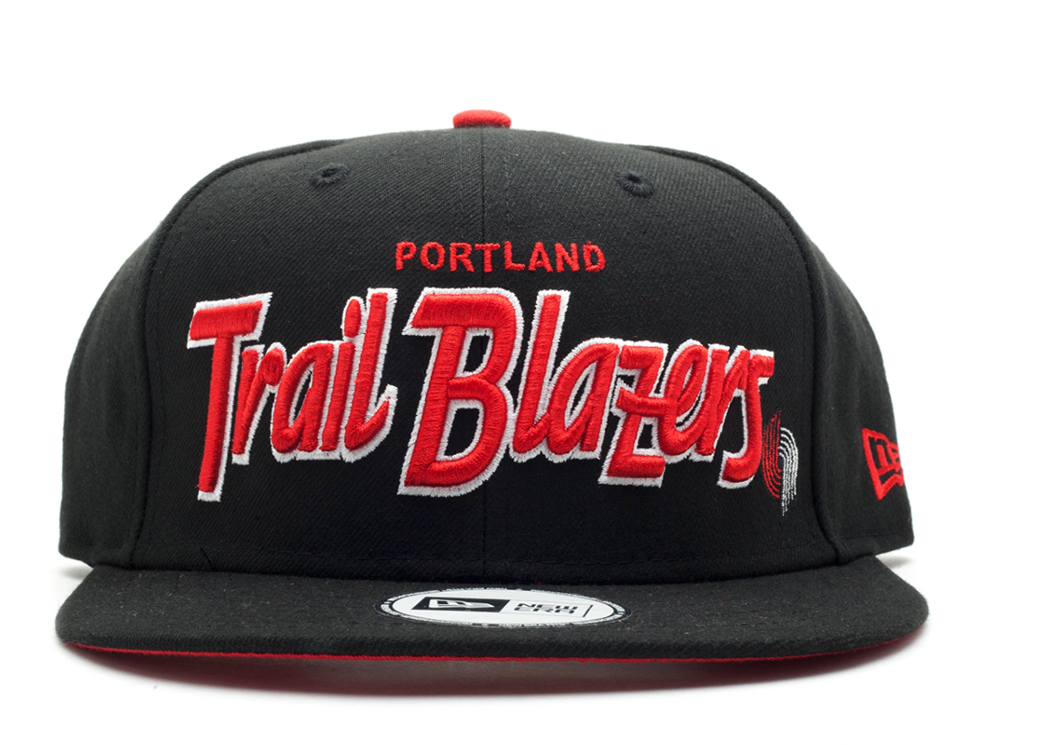 portland trail blazers snap-back
