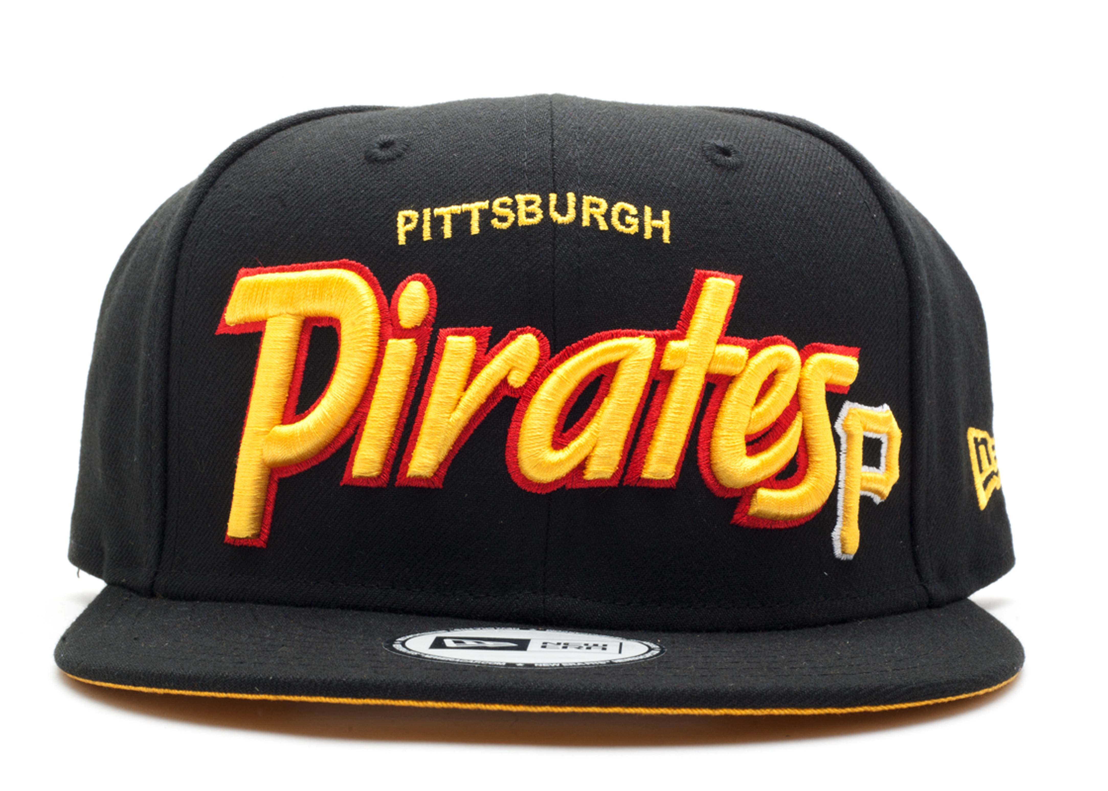 Pittsburgh Pirates Snap-back - New Era - 10223832 - black yellow ... e4a1bad19490