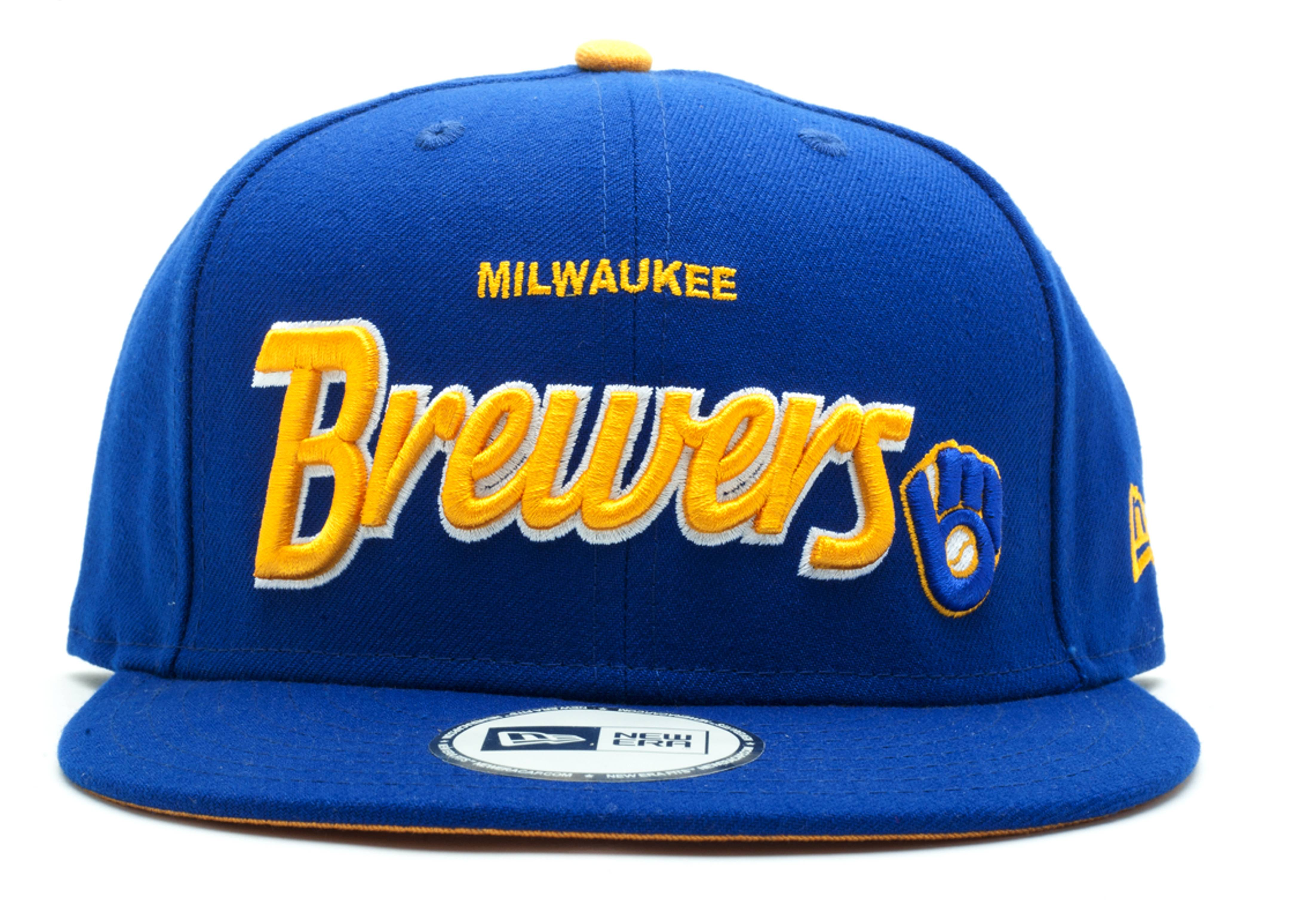 milwaukee brewers snap-back