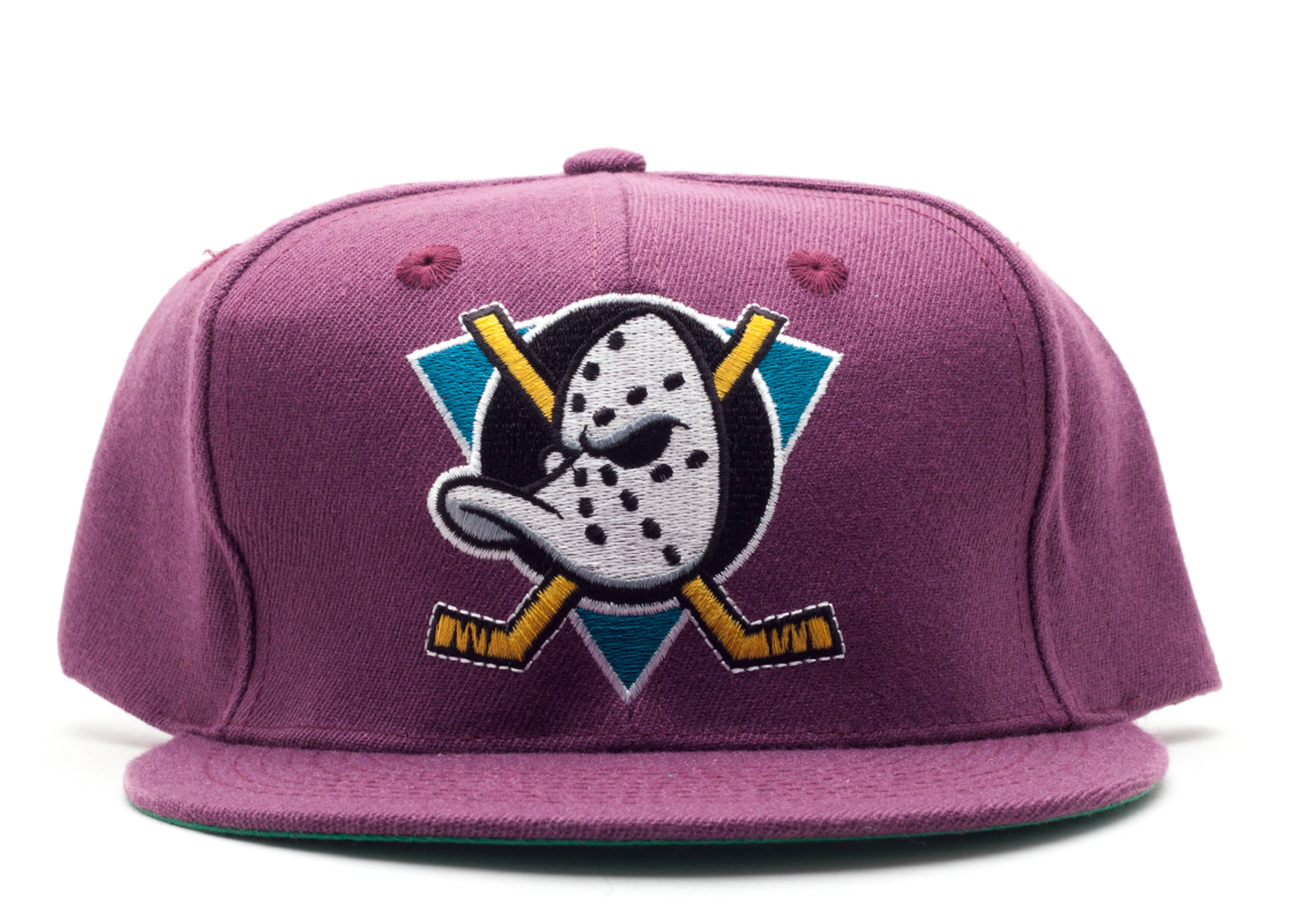 mighty ducks (wool) snap-back