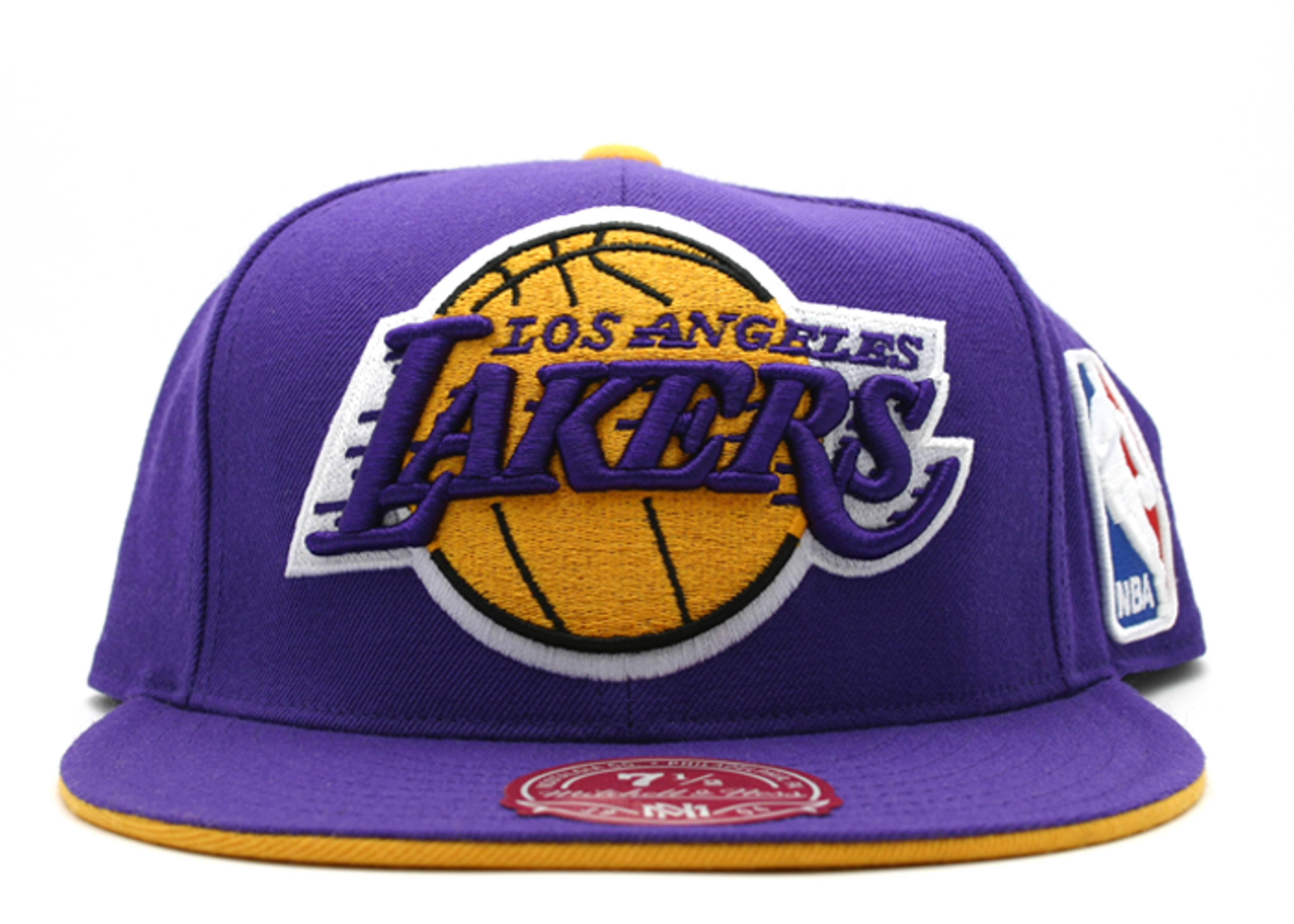 los angeles lakers fitted