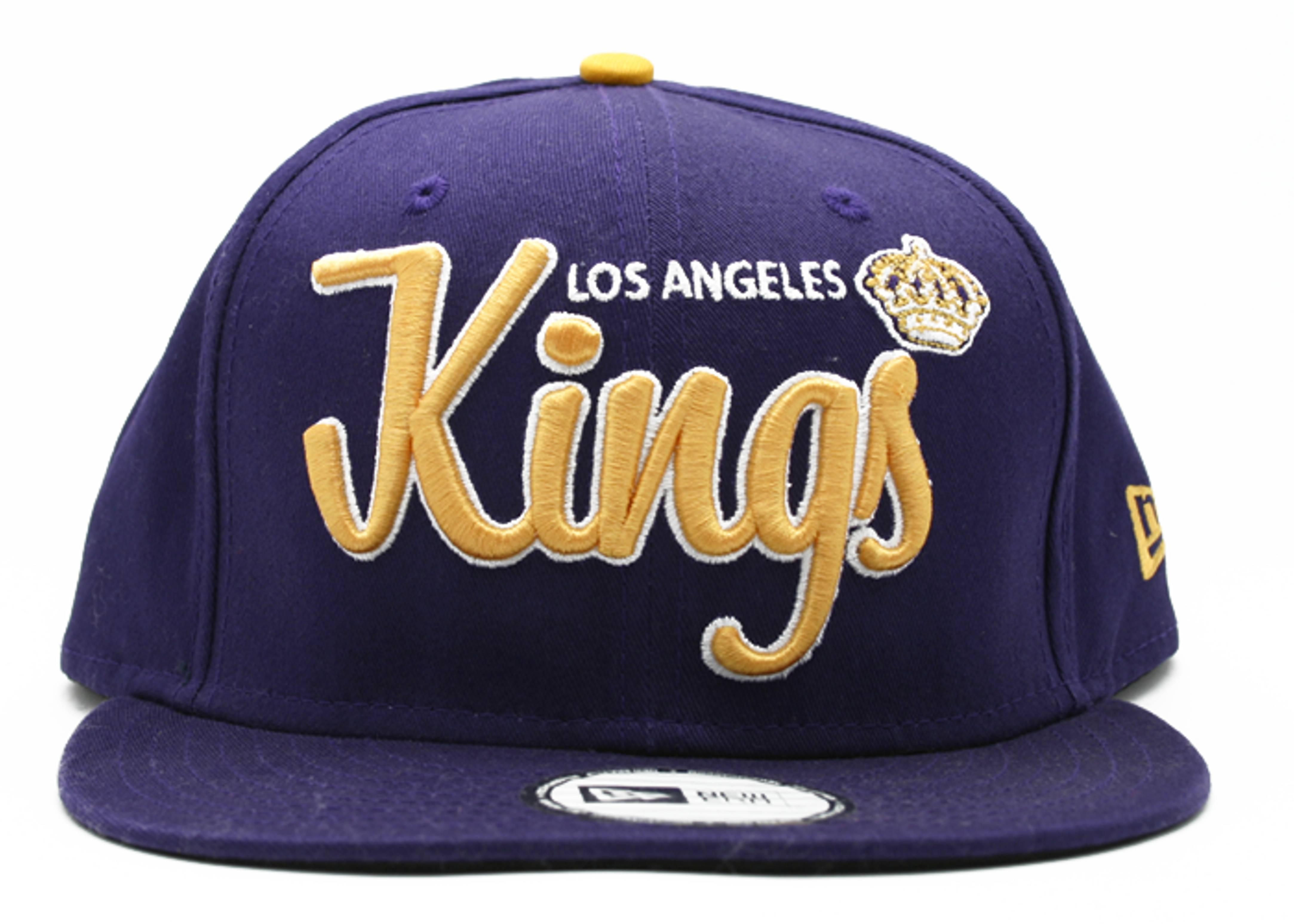 """los angeles kings snap-back """"script"""""""