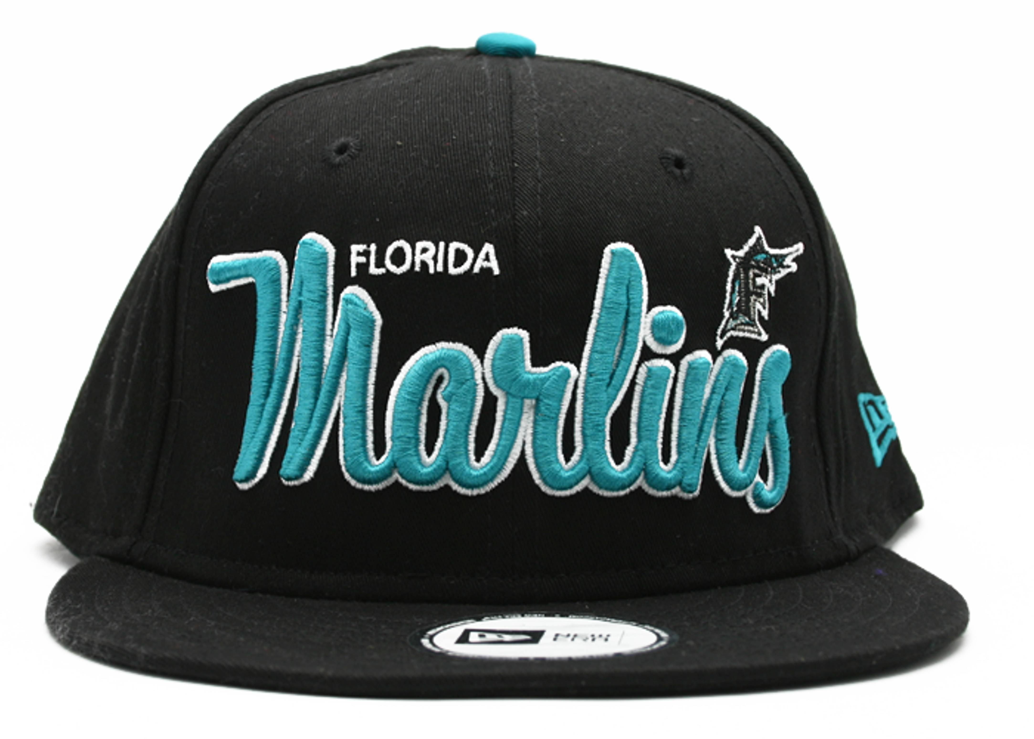 "florida marlins snap-back ""script"""
