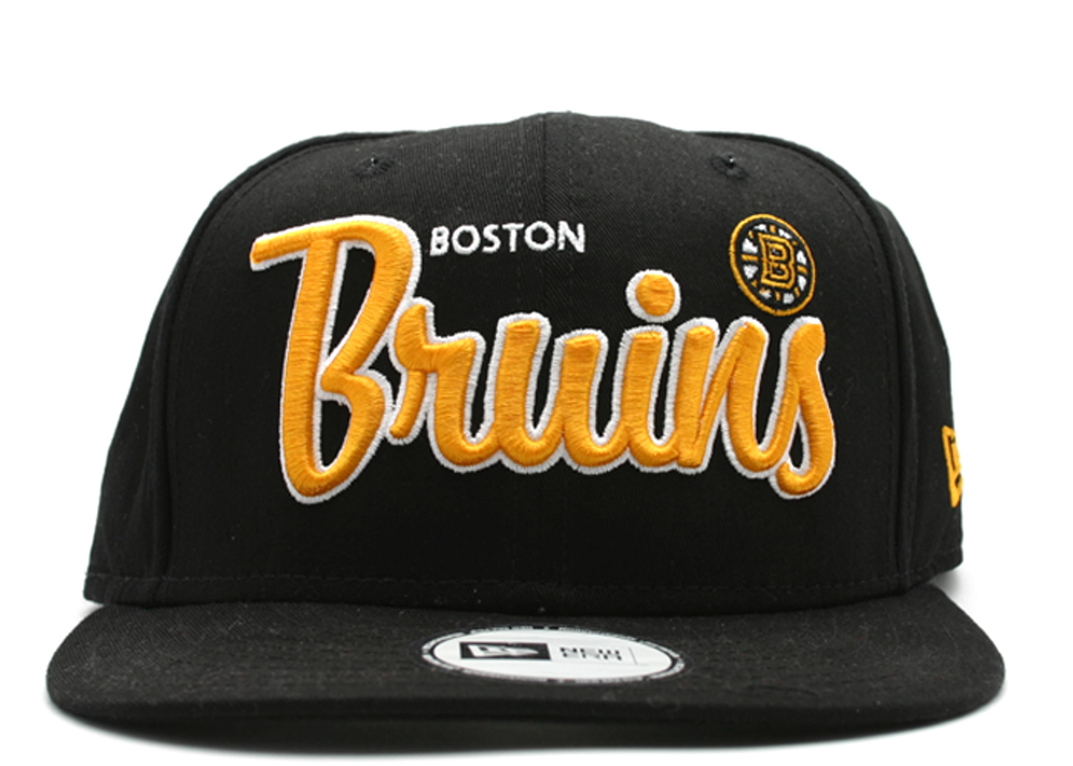 "boston bruins snap-back ""script"""