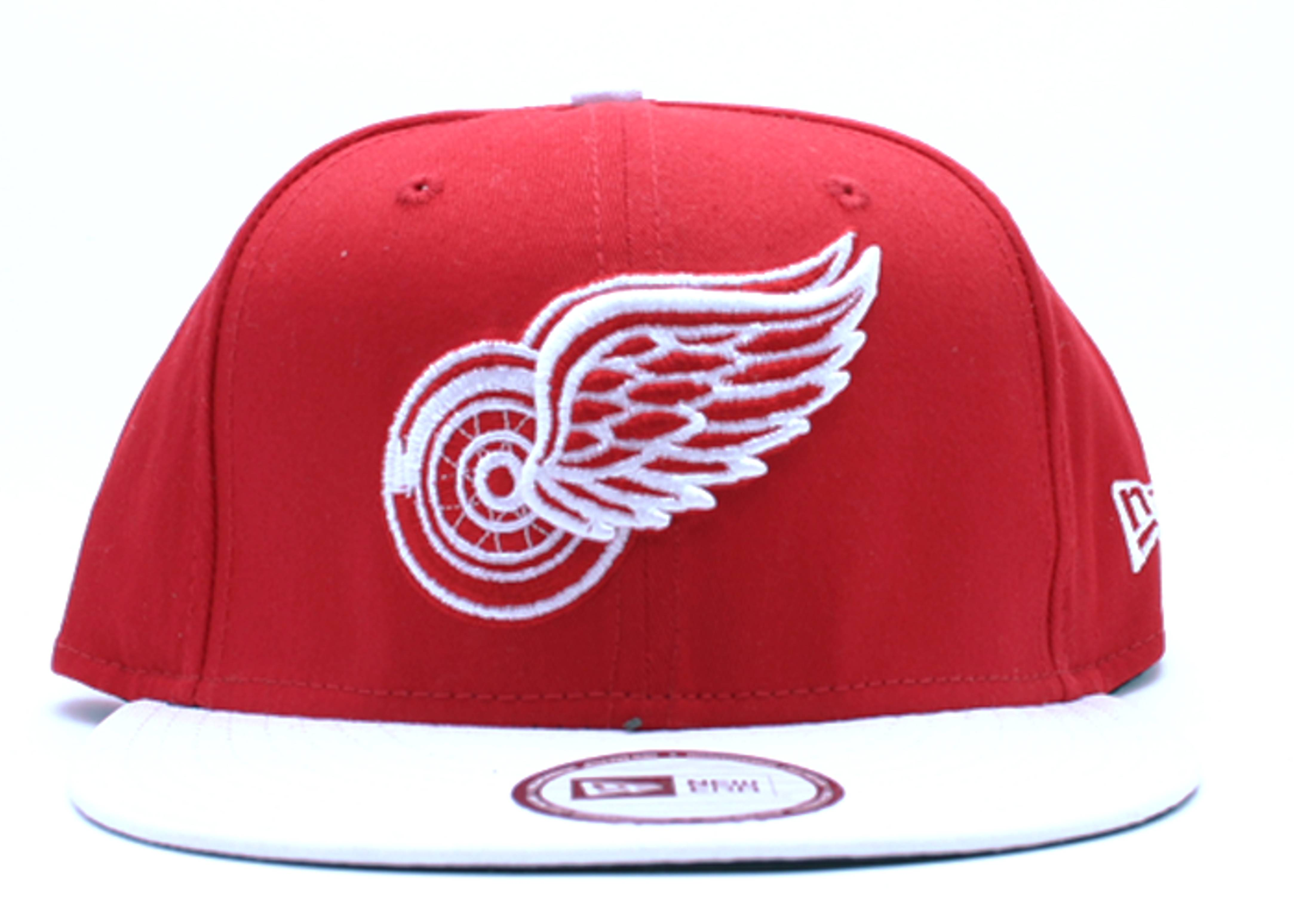 """detroit red wings snap-back """"2-tone"""""""