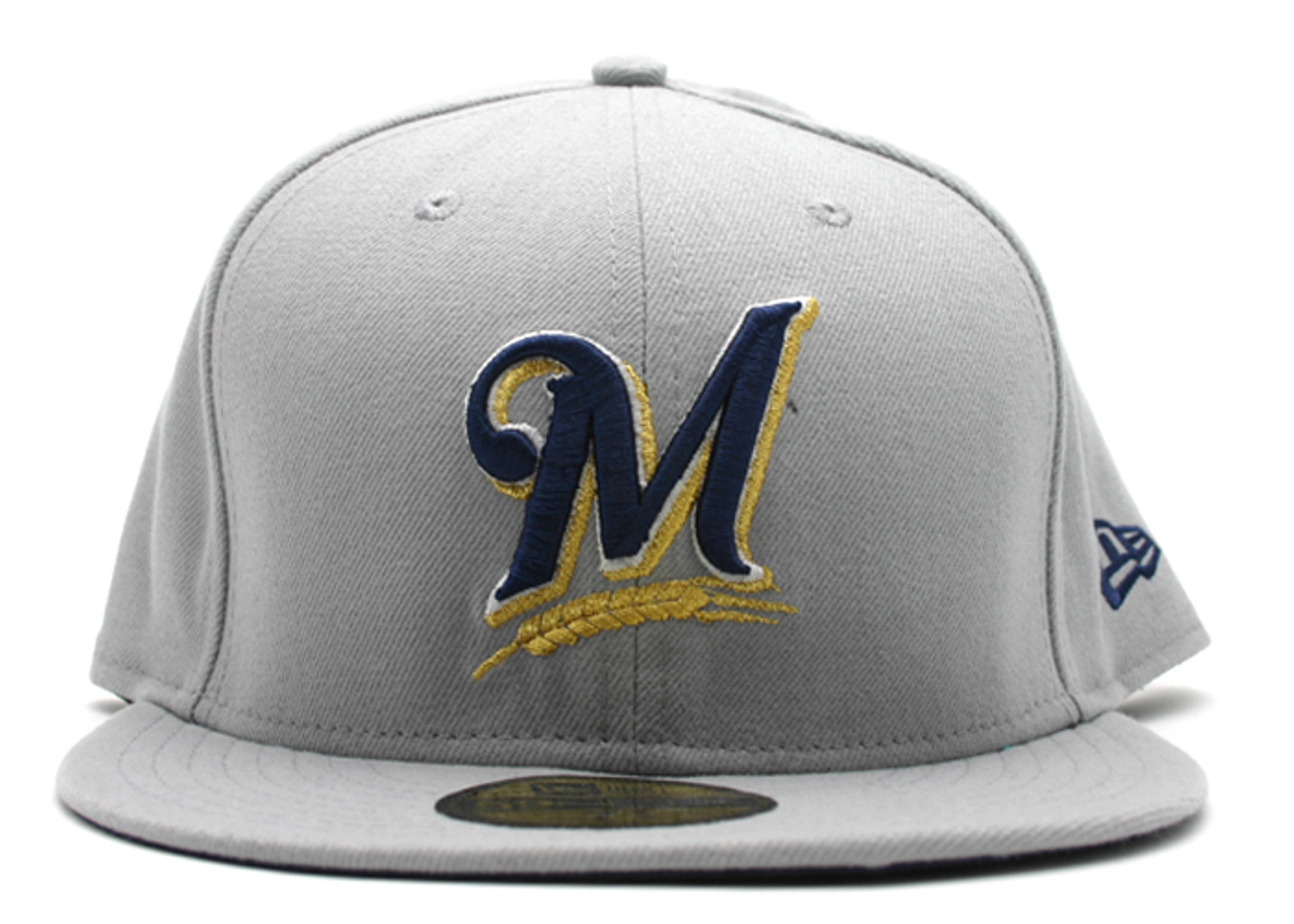 milwaukee brewers fitted