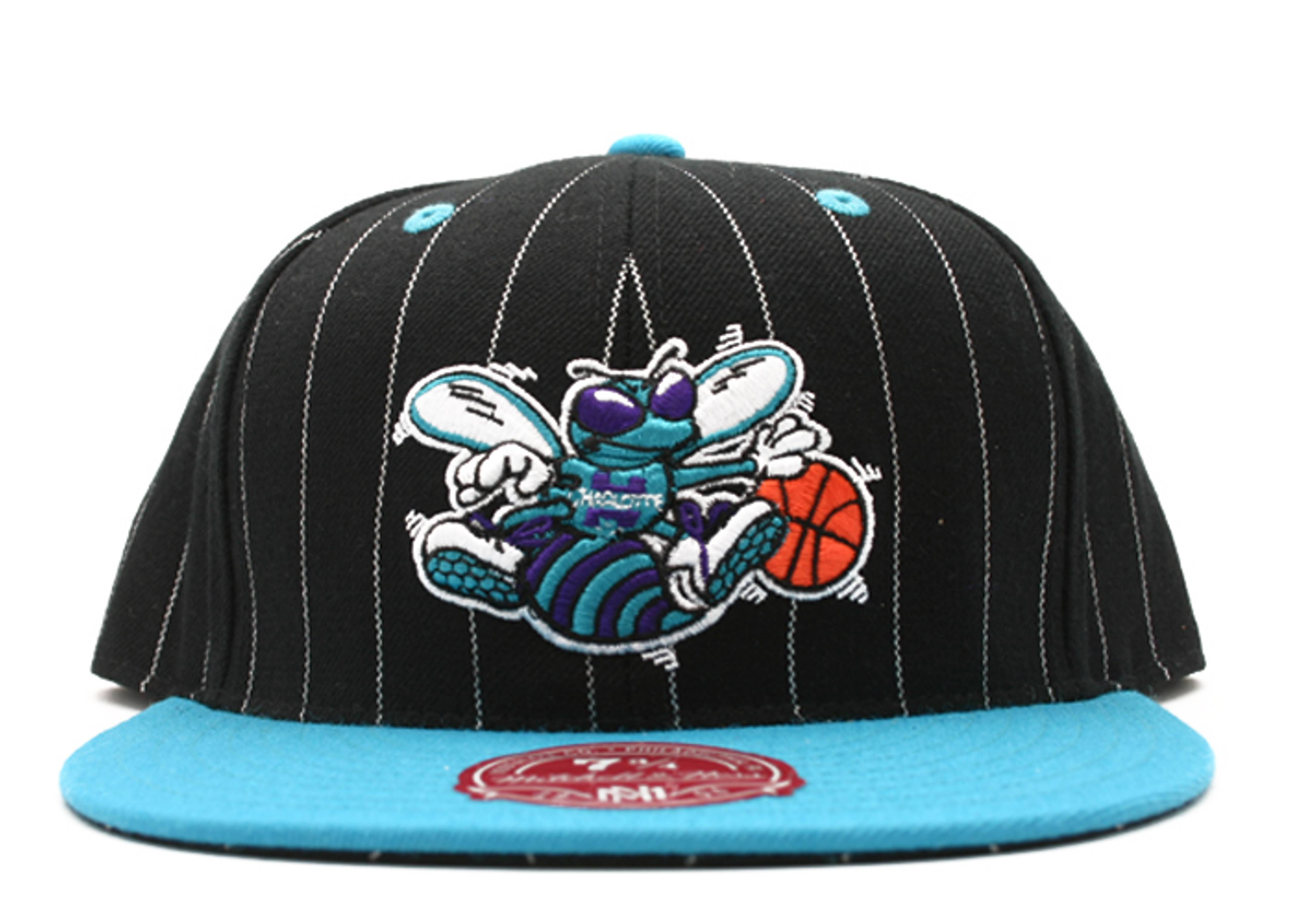 """charlotte hornets fitted """"pinstripe"""""""