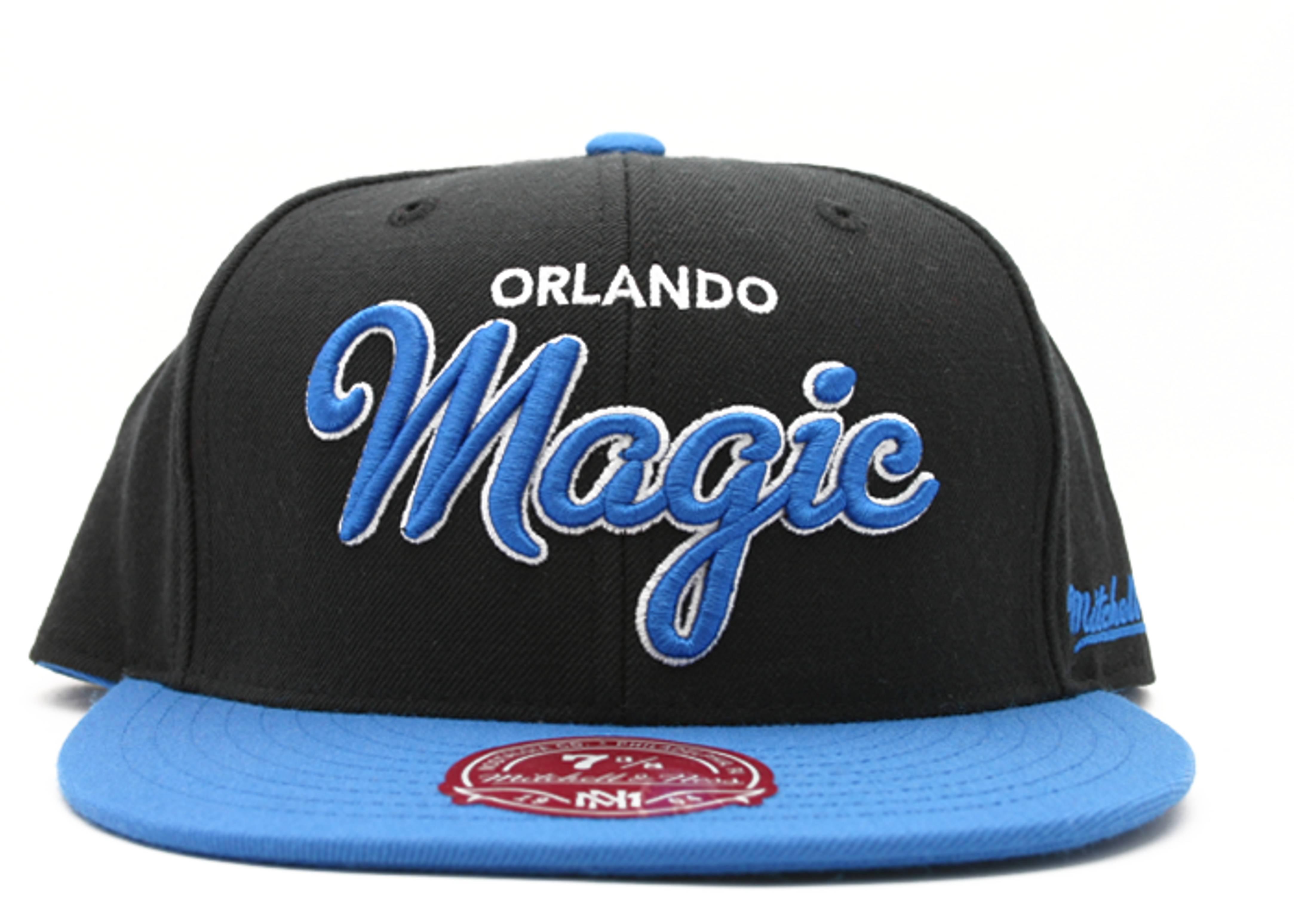 "orlando magic fitted ""script"""