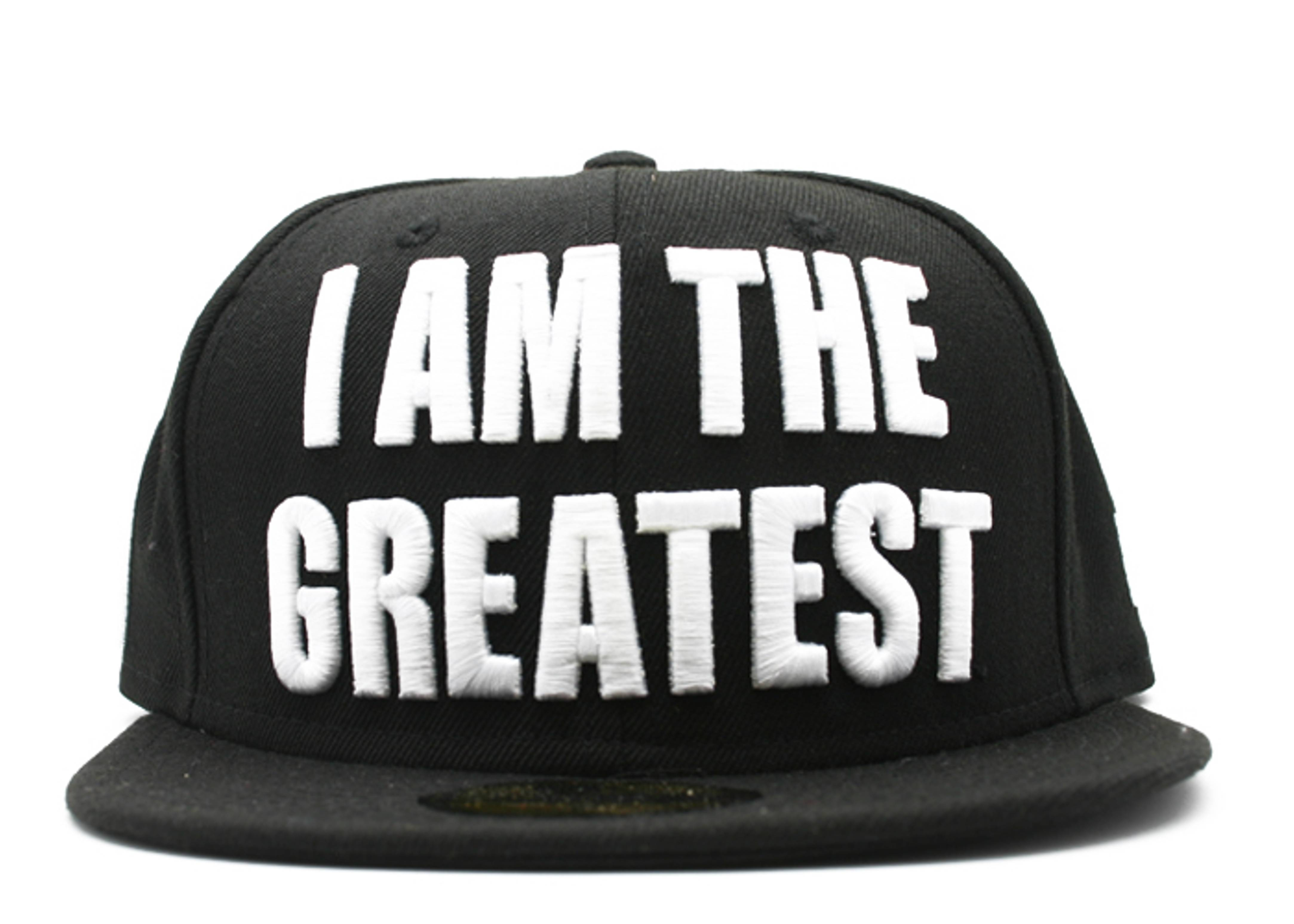 "muhammad ali fitted ""i am the greatest"""