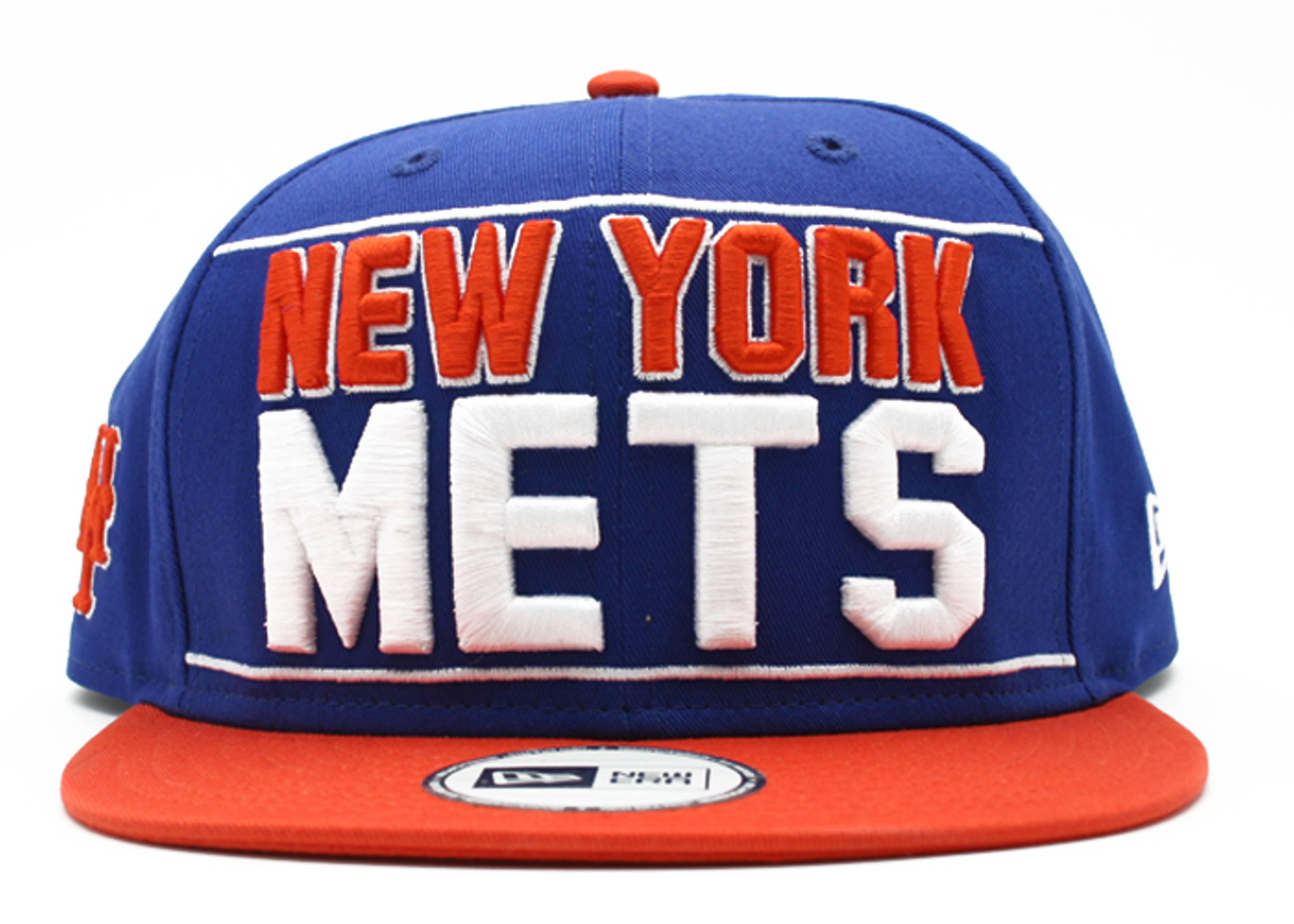 "new york mets snap-back ""big bold print"""
