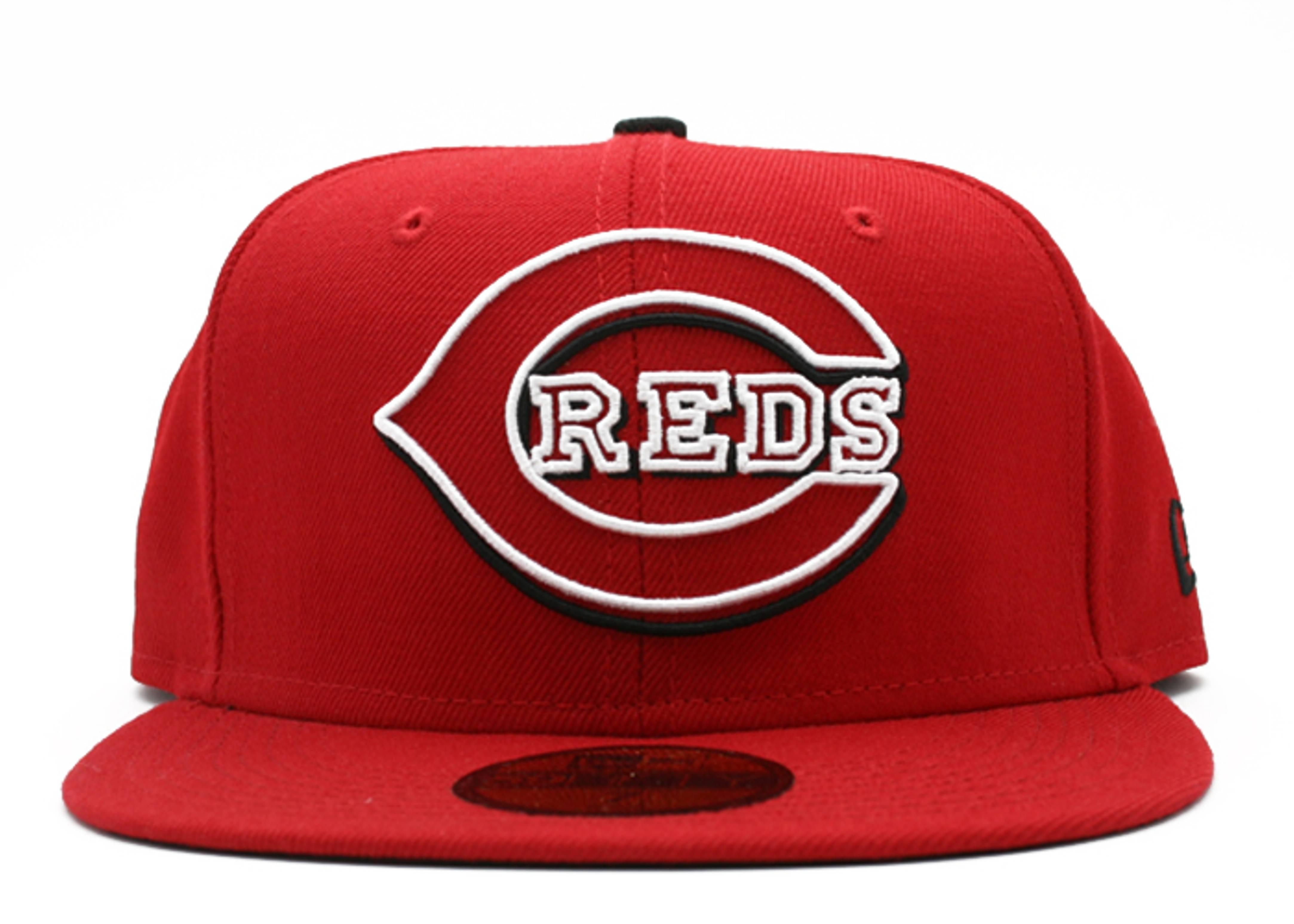 cincinnati reds fitted