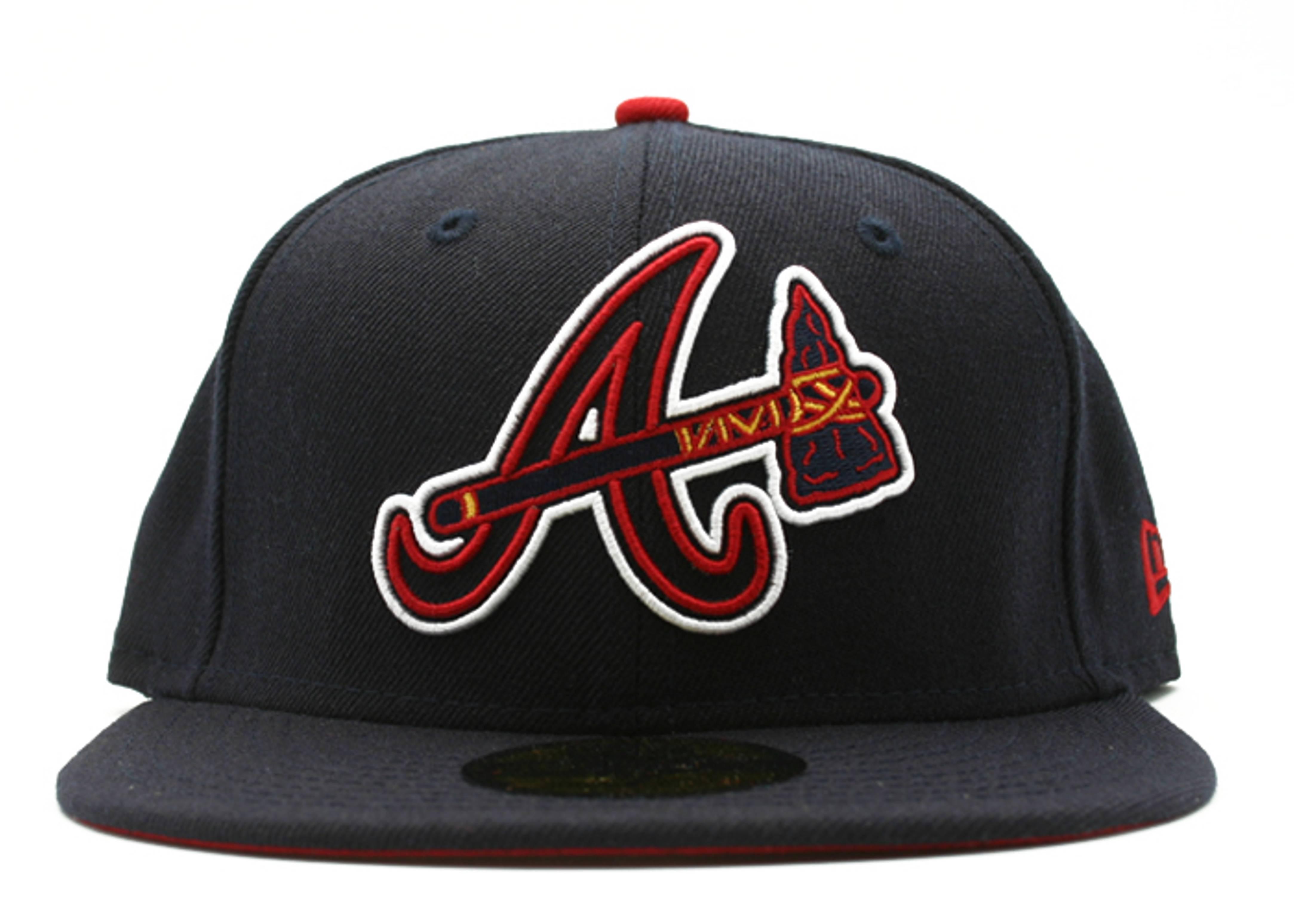 3a96f5e2 Atlanta Braves Fitted - New Era - 10245260 - navy | Flight Club