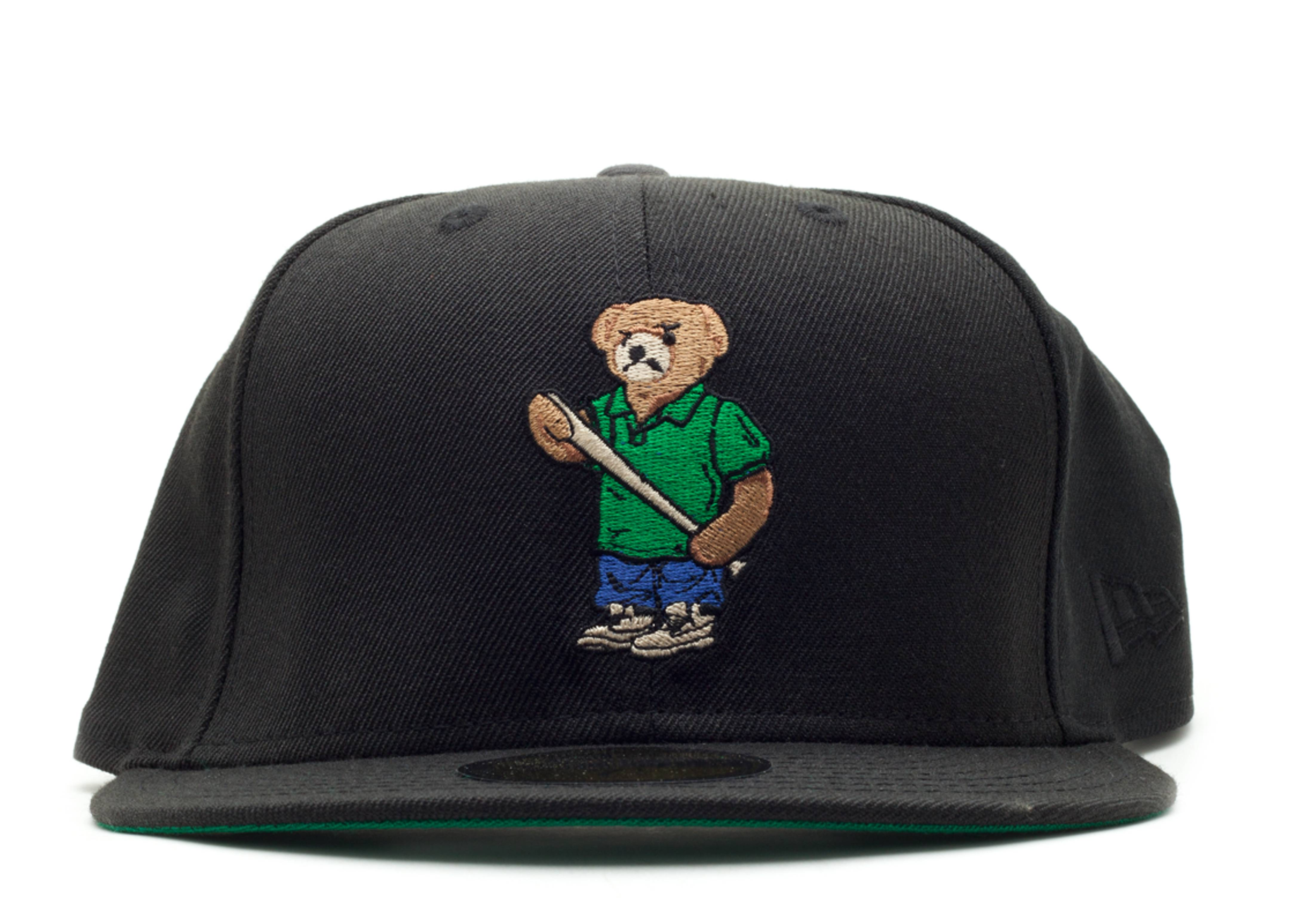 angry lo bear fitted