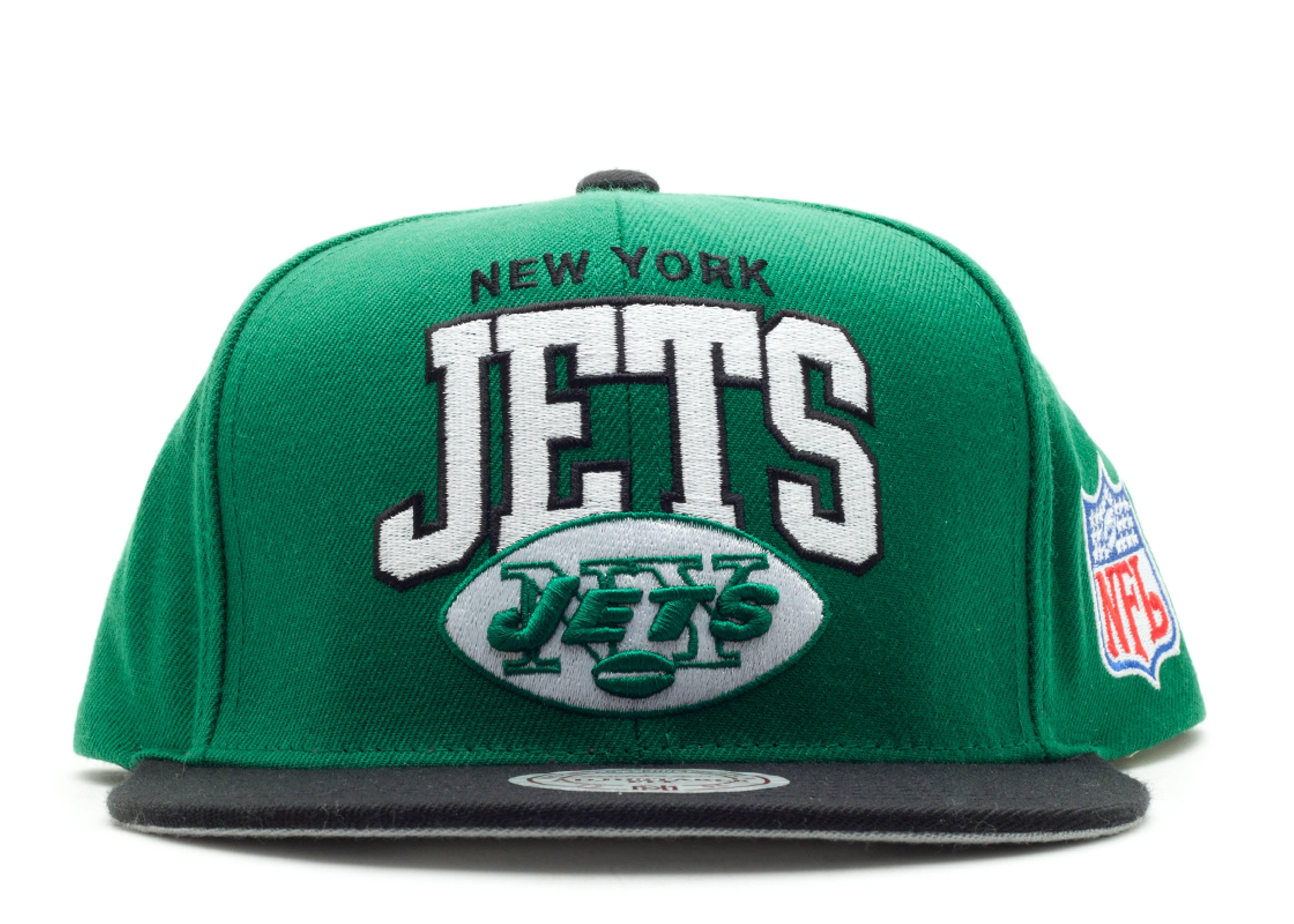 """new york jets arch logo snap-back """"arch logo"""""""