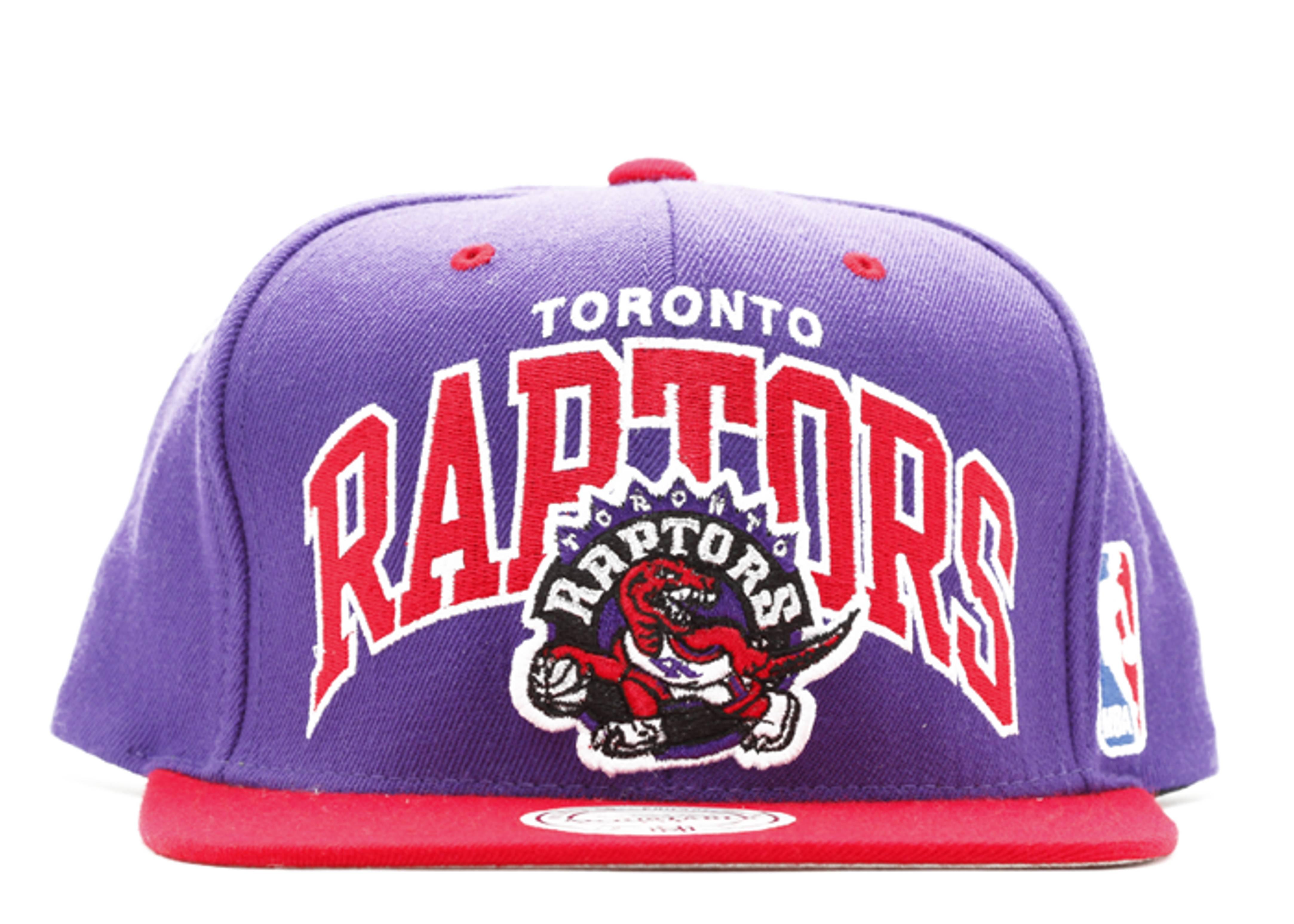 "toronto raptors 2tone snap-back ""arch logo"""