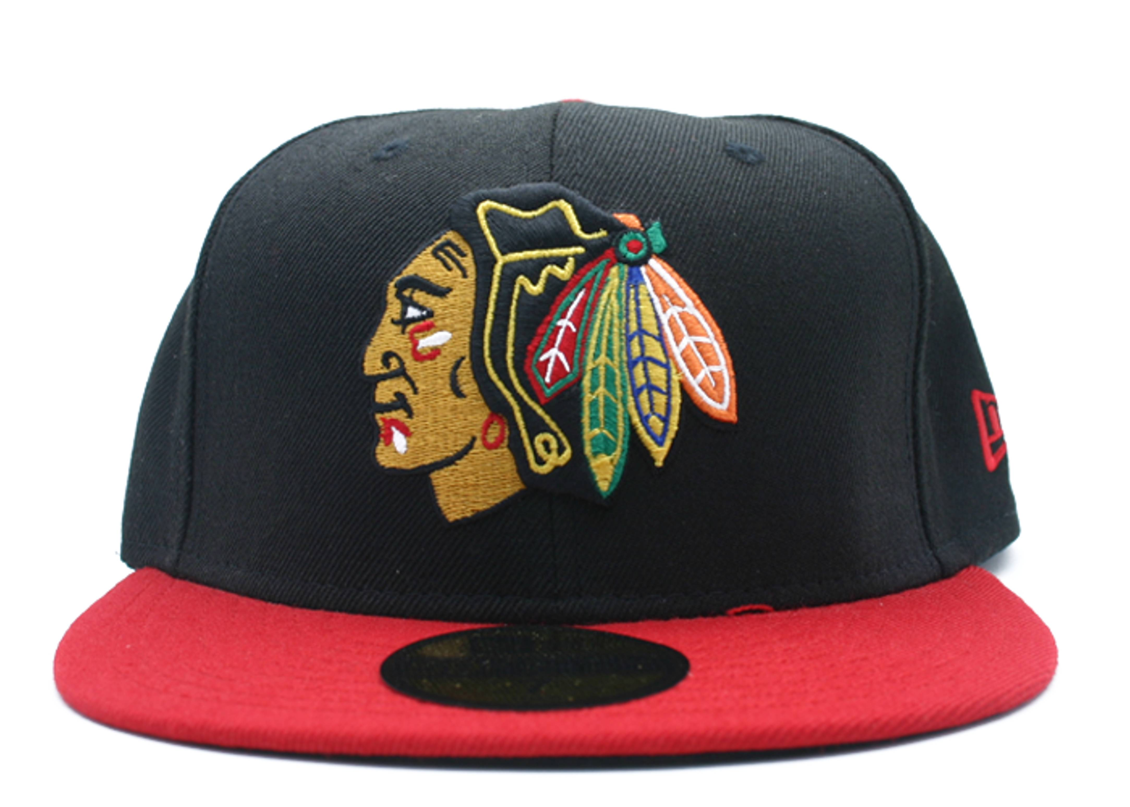 """chicago blackhawk fitted """"2-tone"""""""