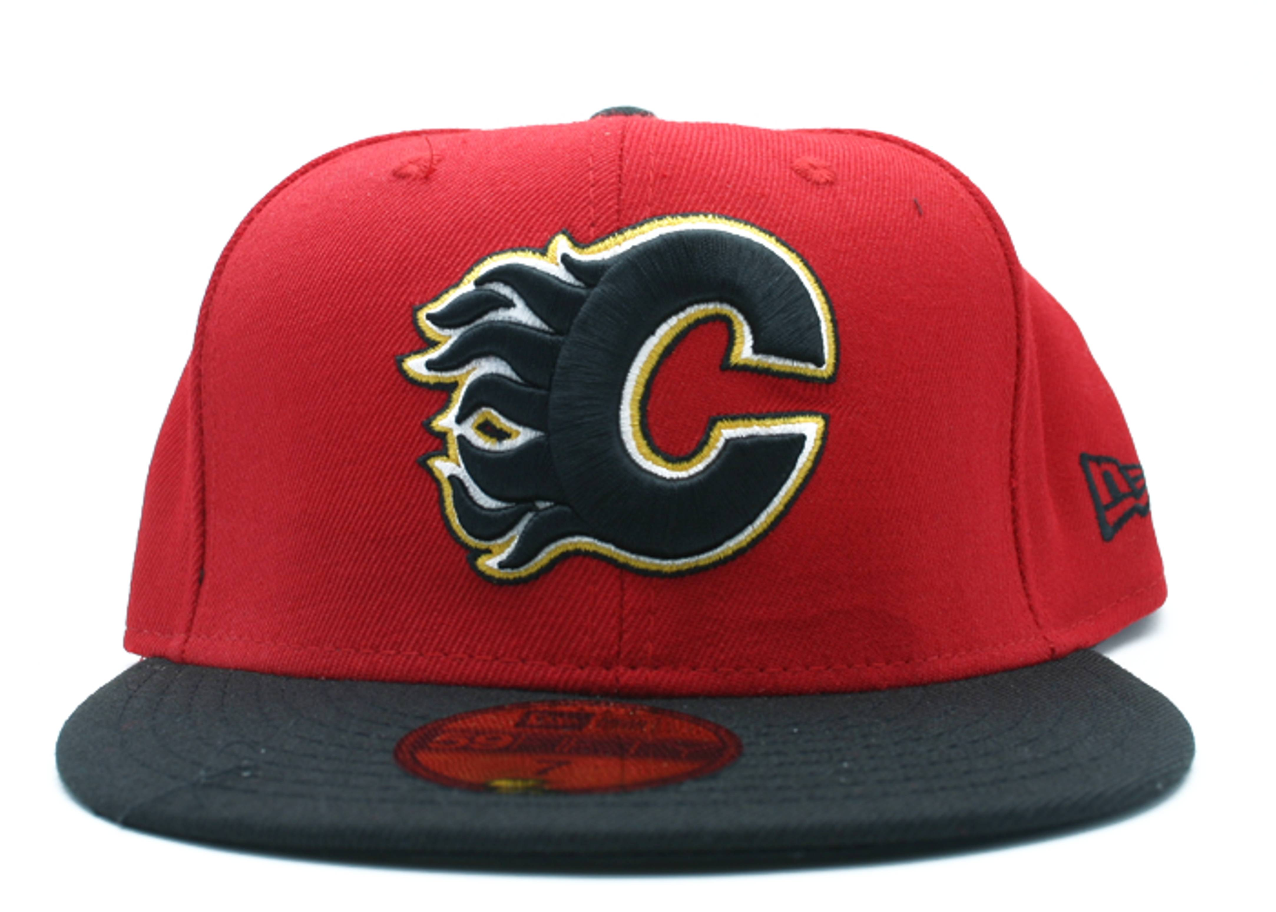"""calgary flames fitted """"2-tone"""""""