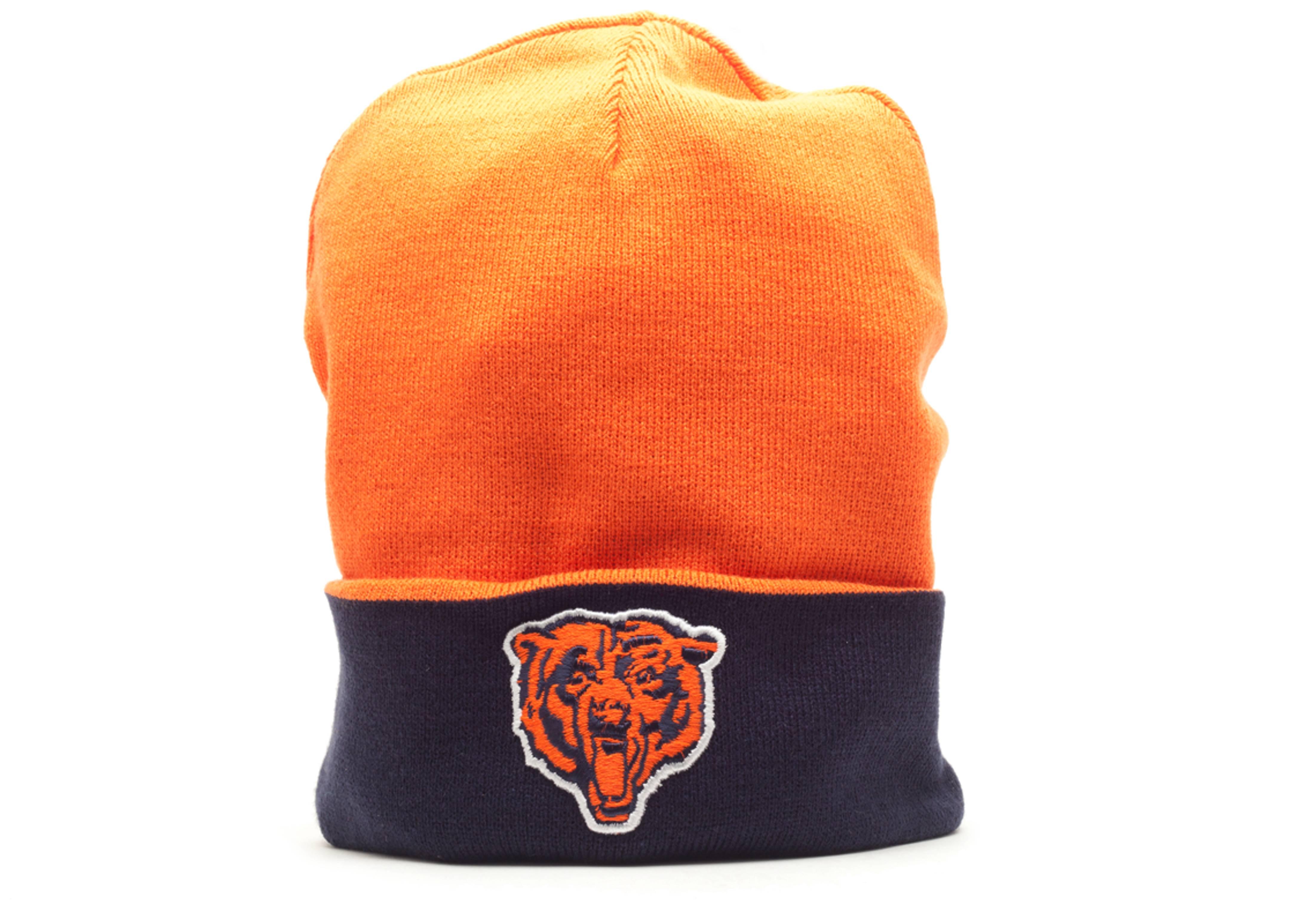 chicago bear reversible beanie