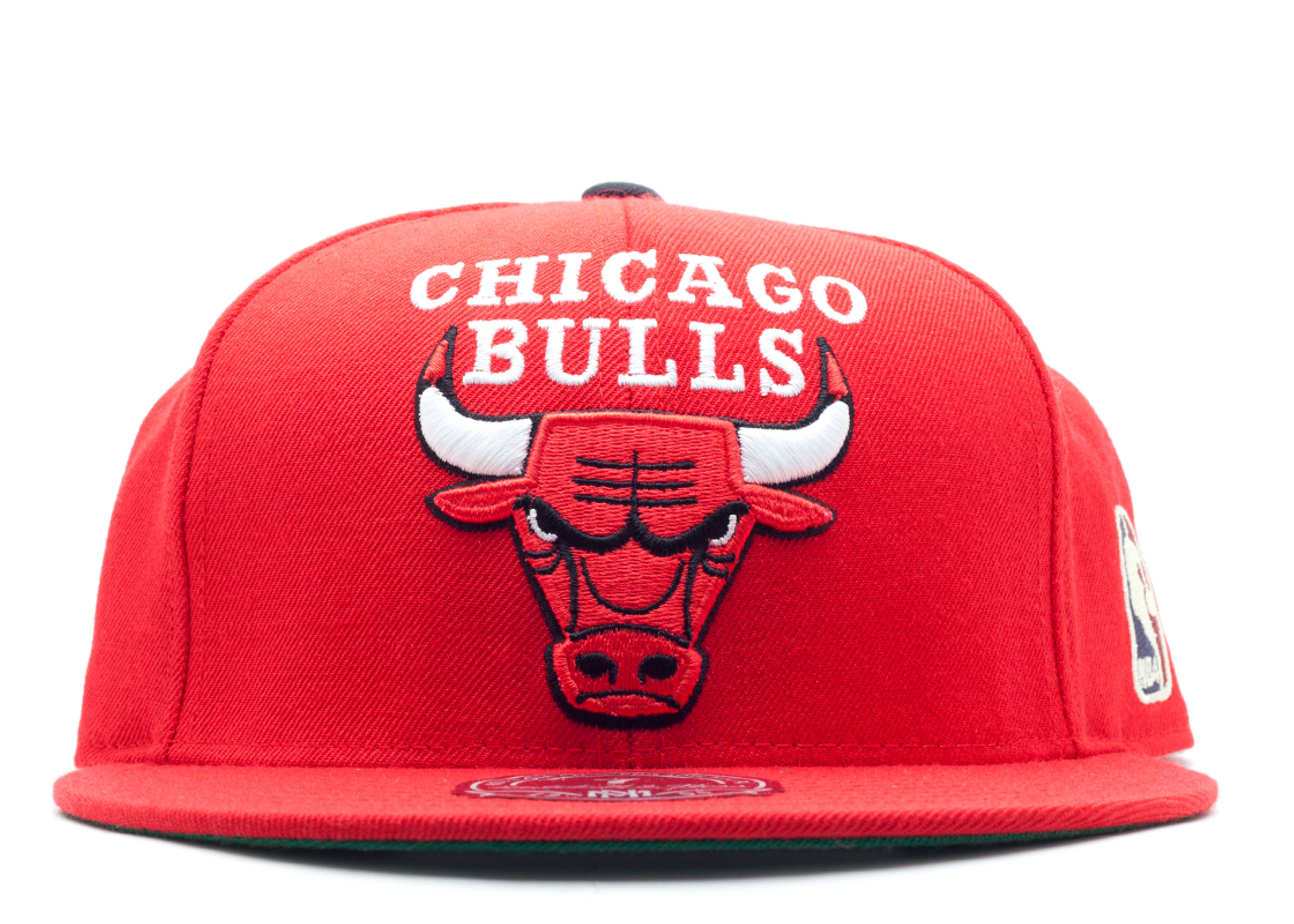 """chicago bulls fitted """"xl logo"""""""
