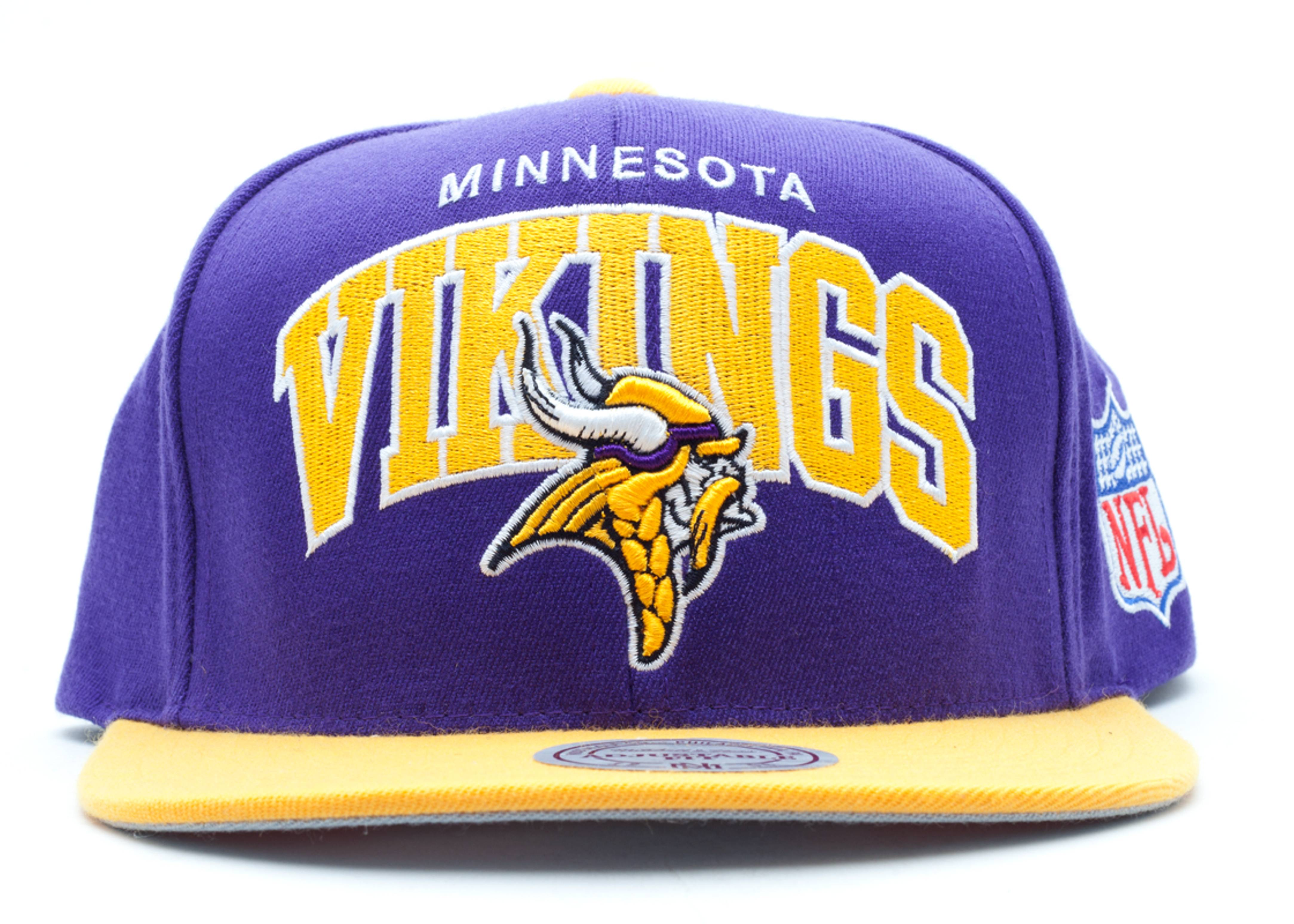 new product 3abd0 a82c1 Minnesota Vikings Snap-back - Mitchell & Ness ...