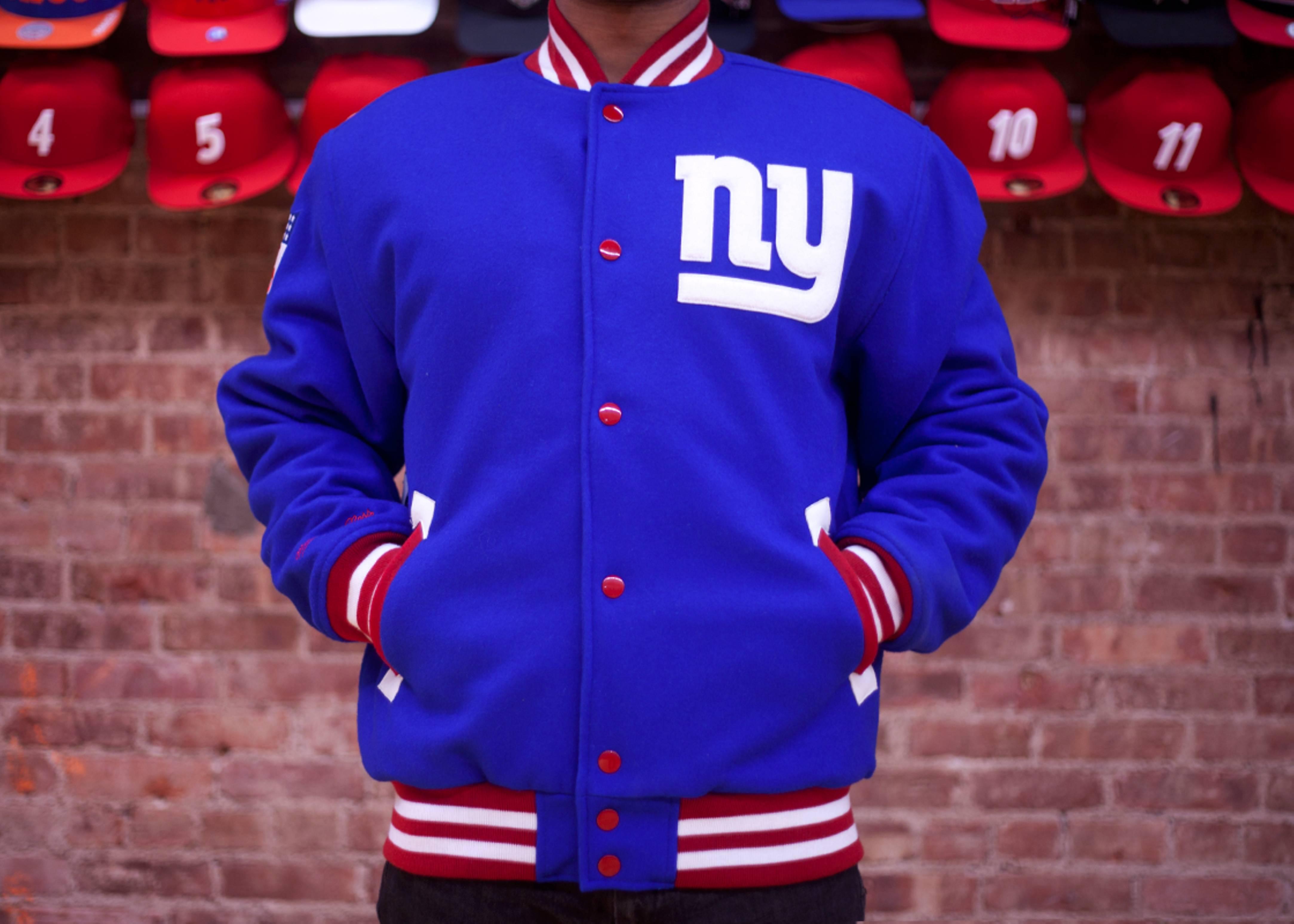 new york giants wool jacket