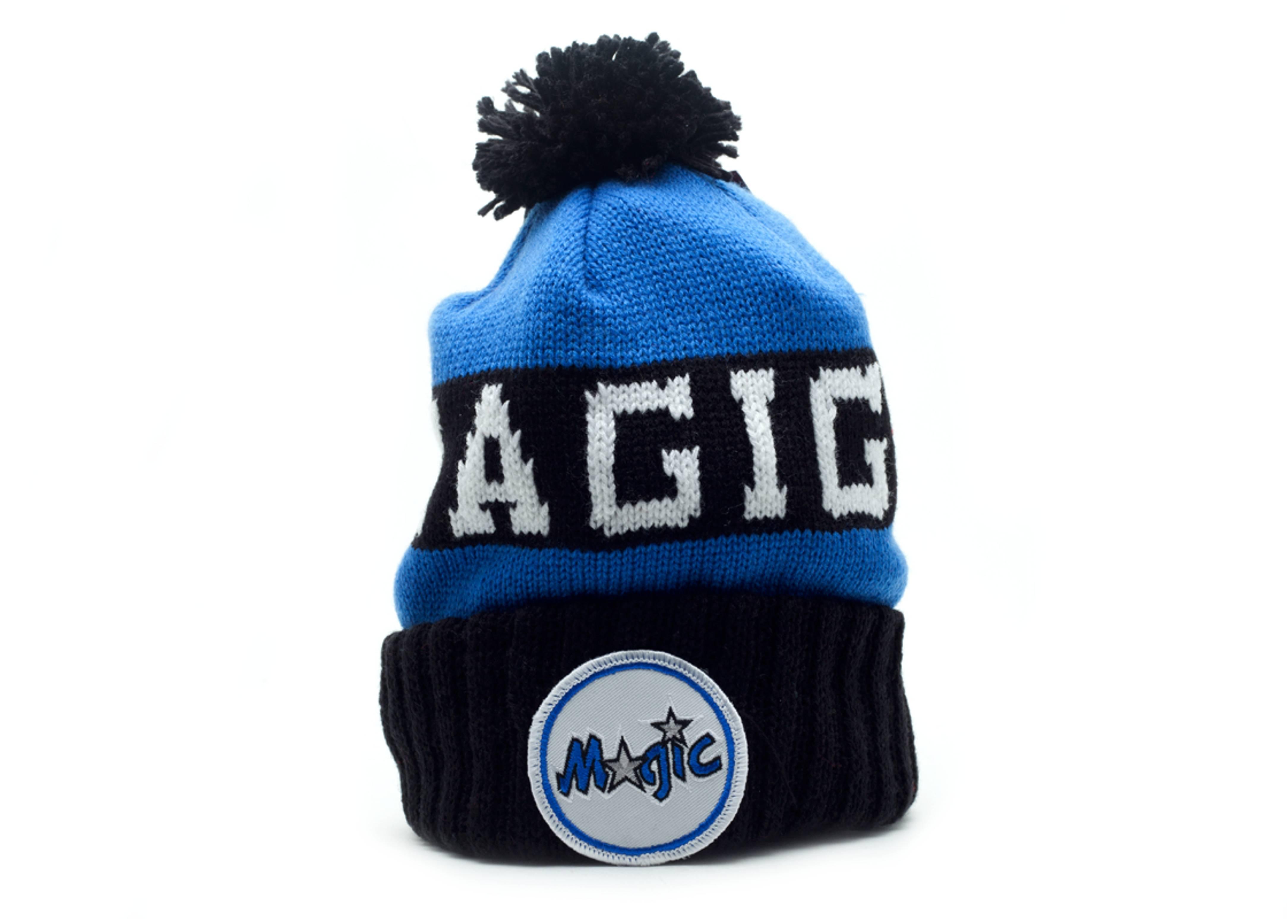 Orlando Magic Beanie - Mitchell   Ness - kd25mtc5magic - blue black ... 4d5be38517c