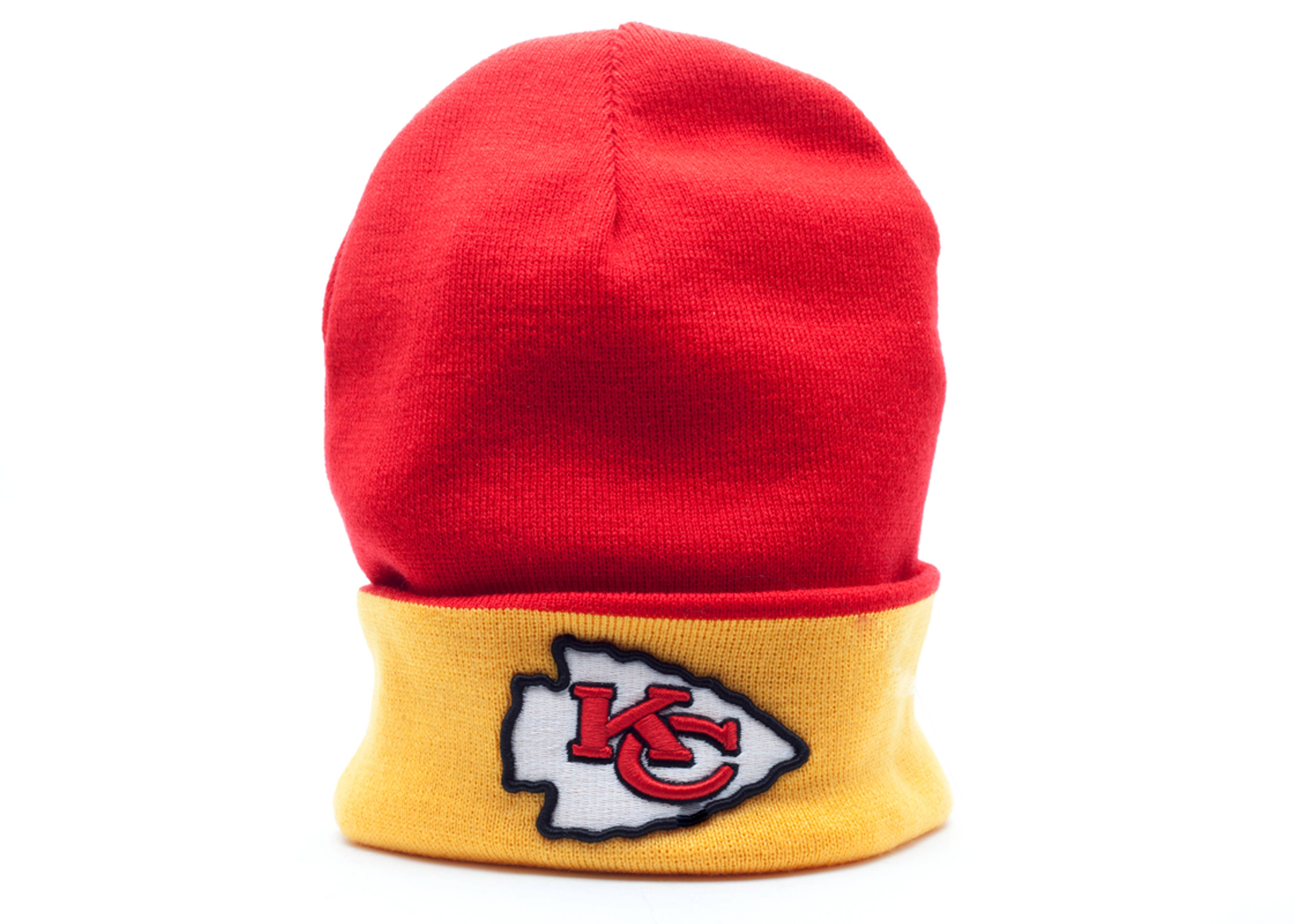 kansas city chief beanie