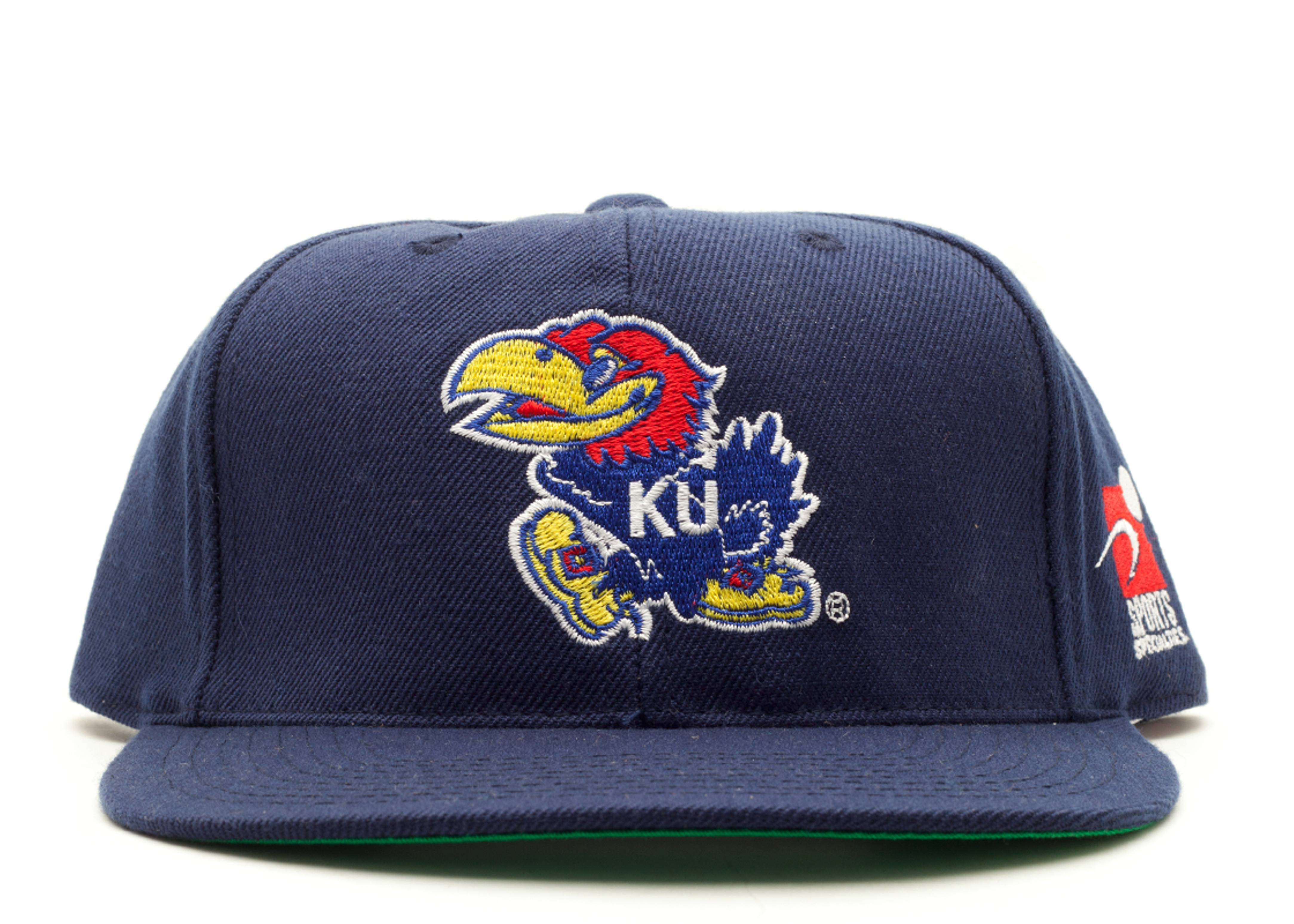 kansas university snap-back