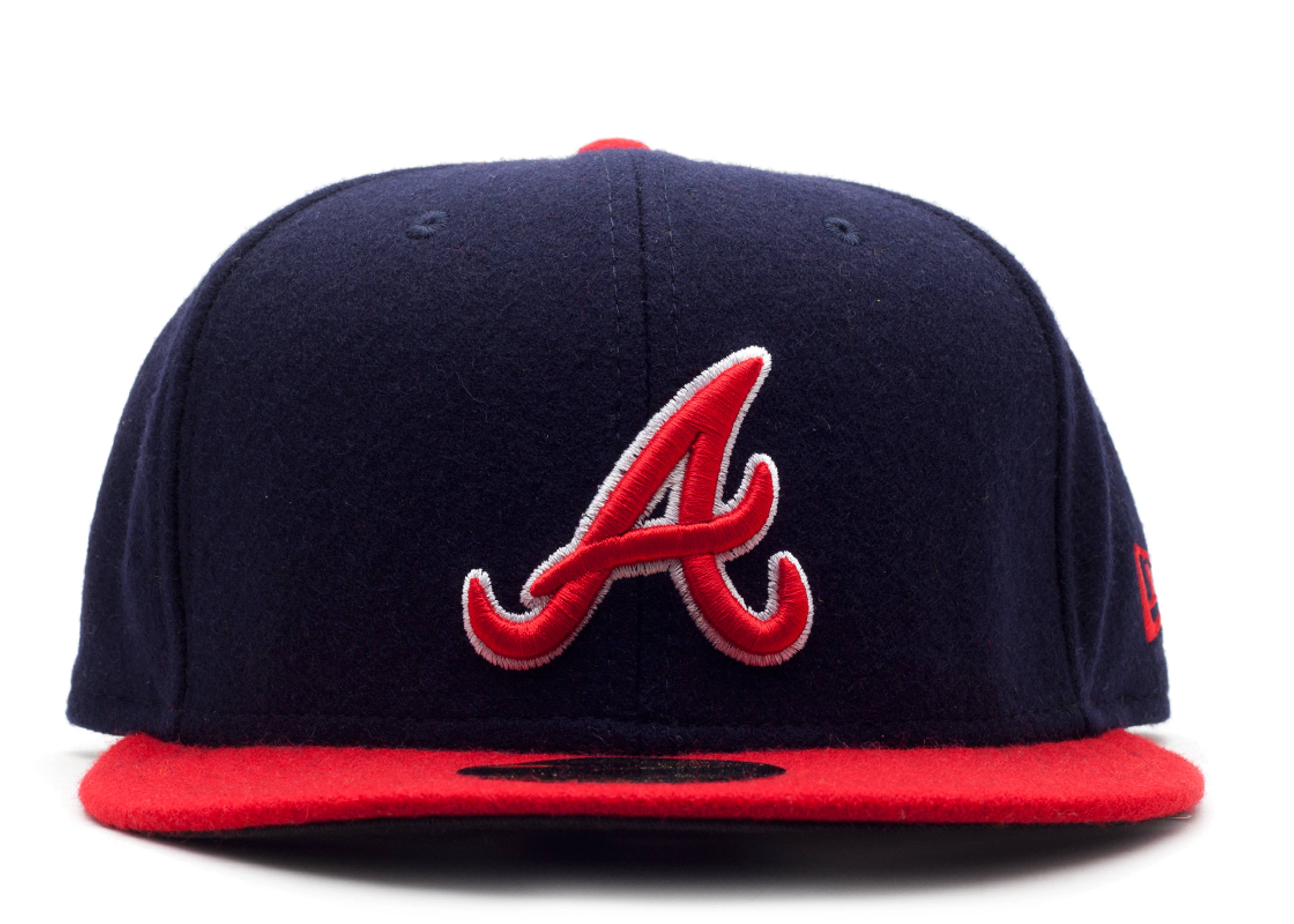"atlanta braves fitted ""melton wool"""