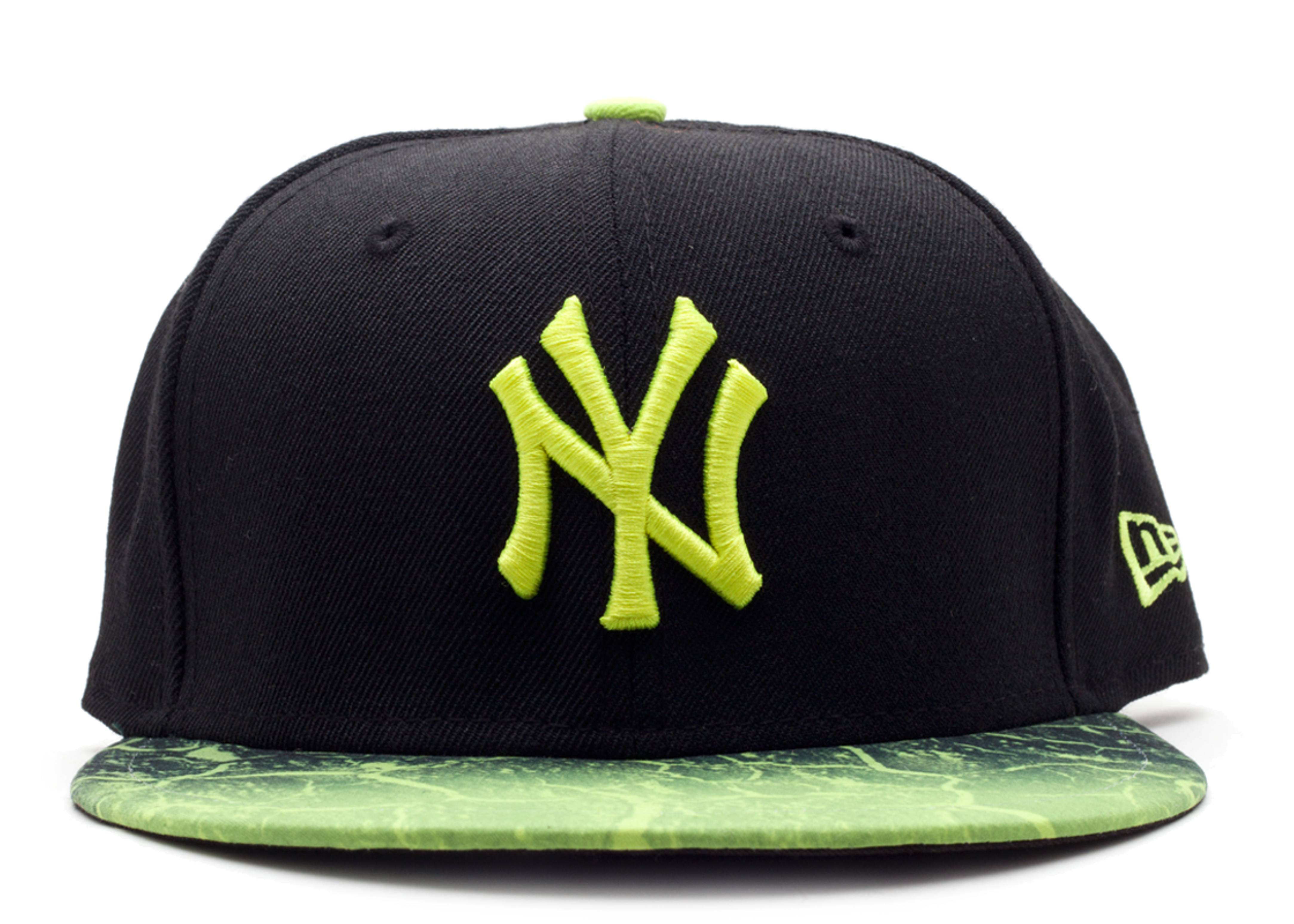 """new york yankees fitted """"bad land crackle"""""""